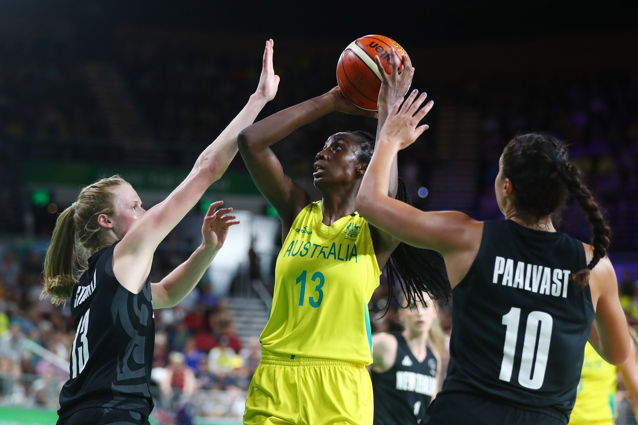 Ezi Magbegor has been selected to compete in Australia's women's basketball team at Naples 2019 ©Getty Images