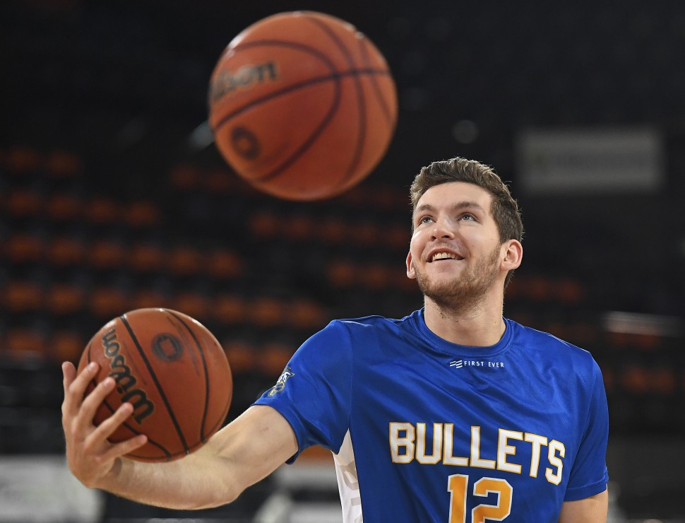 National Basketball League player Will Magnay has been named in the Australian men's basketball team for Naples 2019 ©Getty Images