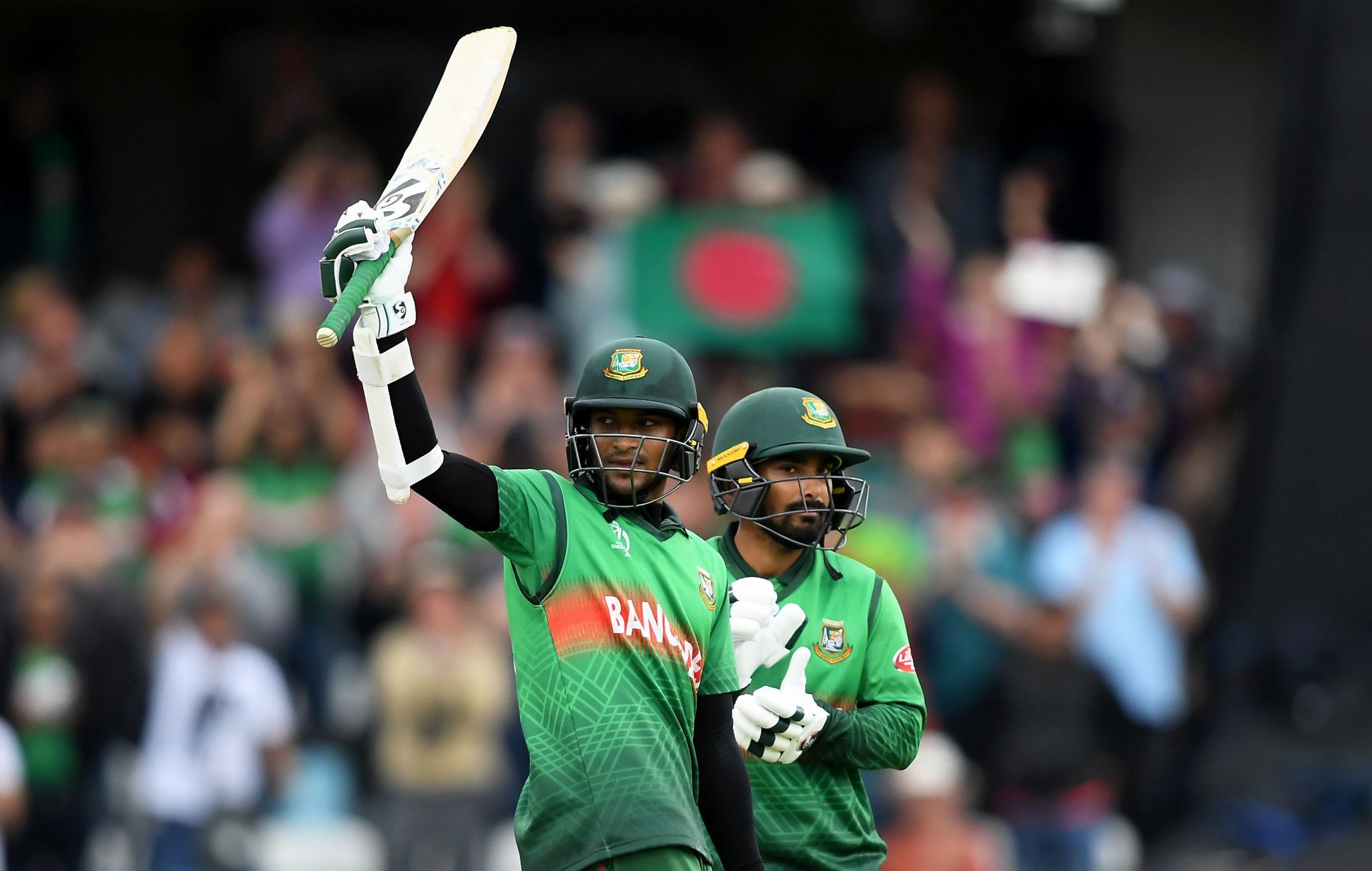 Bangladesh complete second-highest run chase in history of Cricket World Cup to stun West Indies