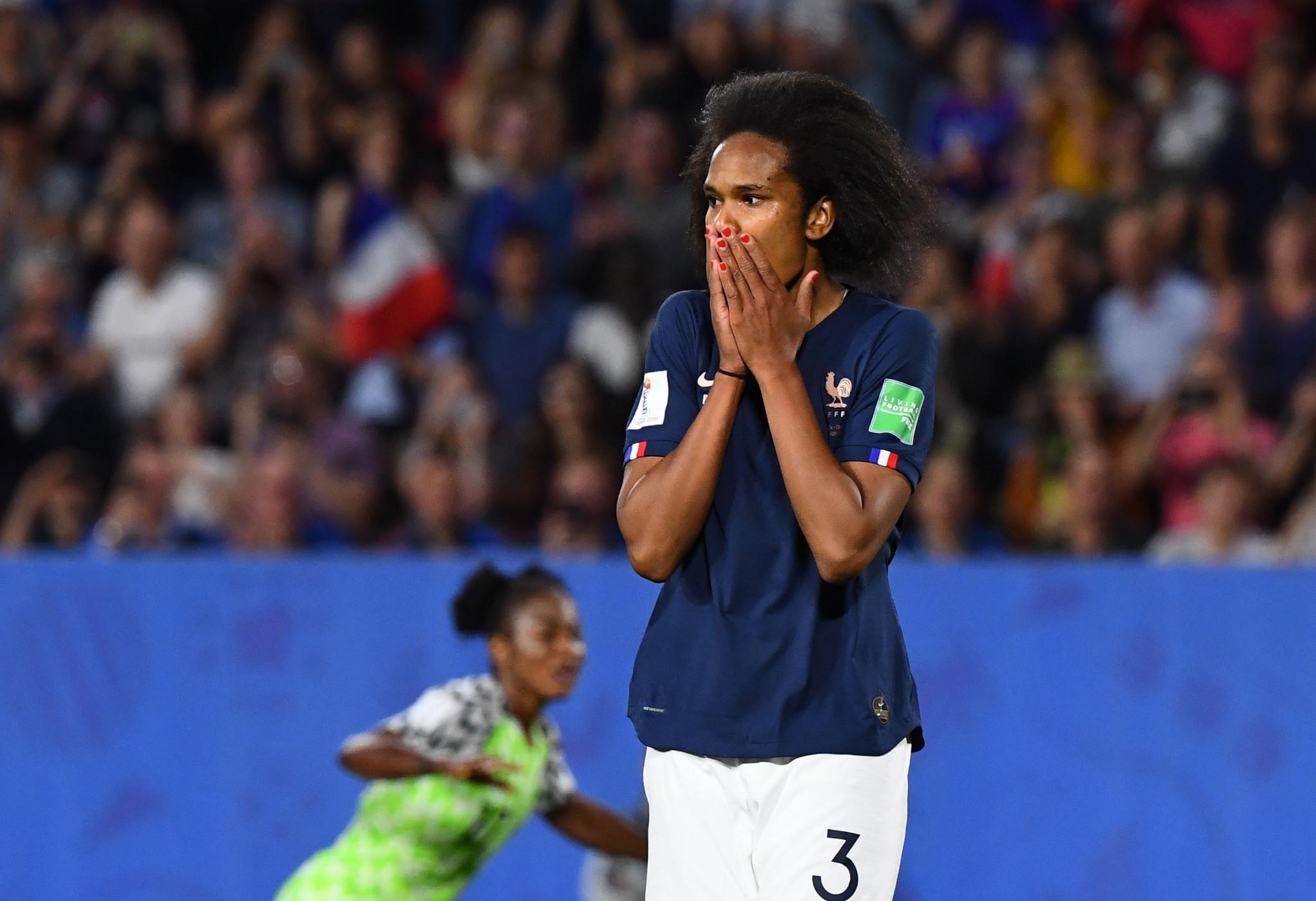 France defender Wendie Renard missed a late penalty against Nigeria ©Getty Images