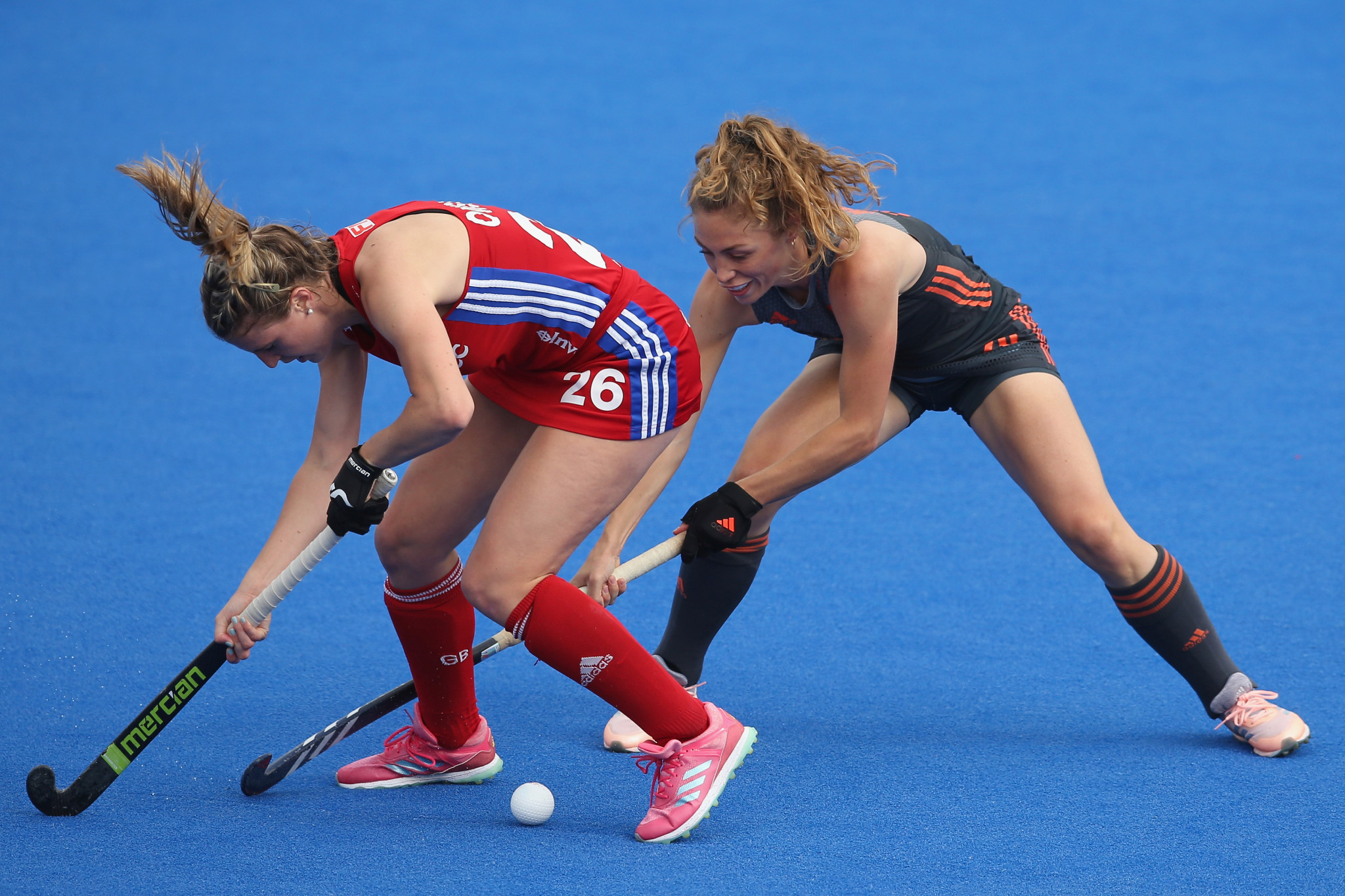 The European Hockey Federation has made gender equality a key goal ©Getty Images