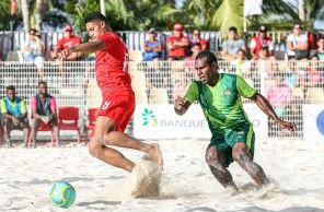 Hosts Tahiti crush Vanuatu as OFC Beach Soccer Nations Cup returns