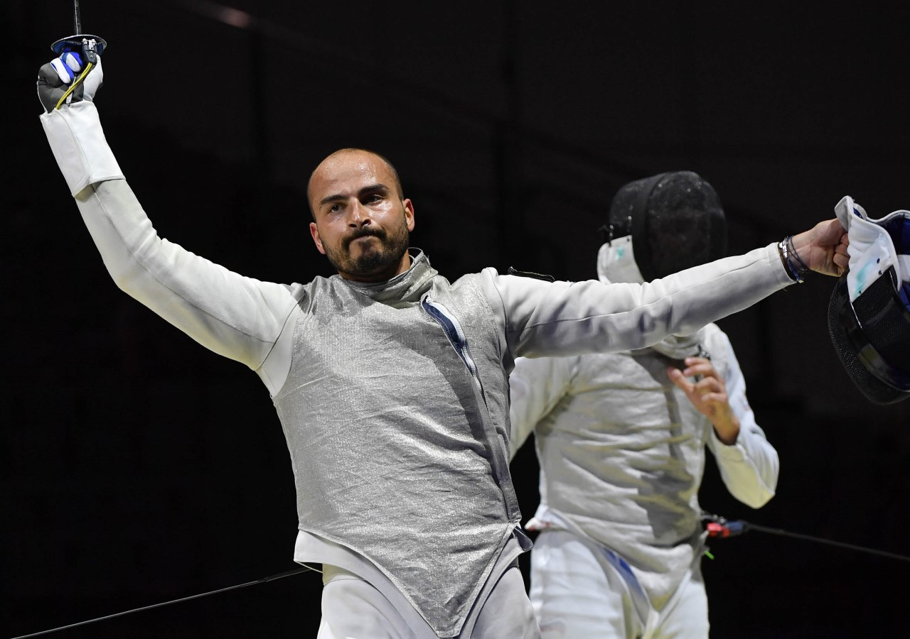 Men's foil world number one Alessio Foconi thrashed fellow Italian Daniele Garozzo at the European Fencing Championships ©FIE