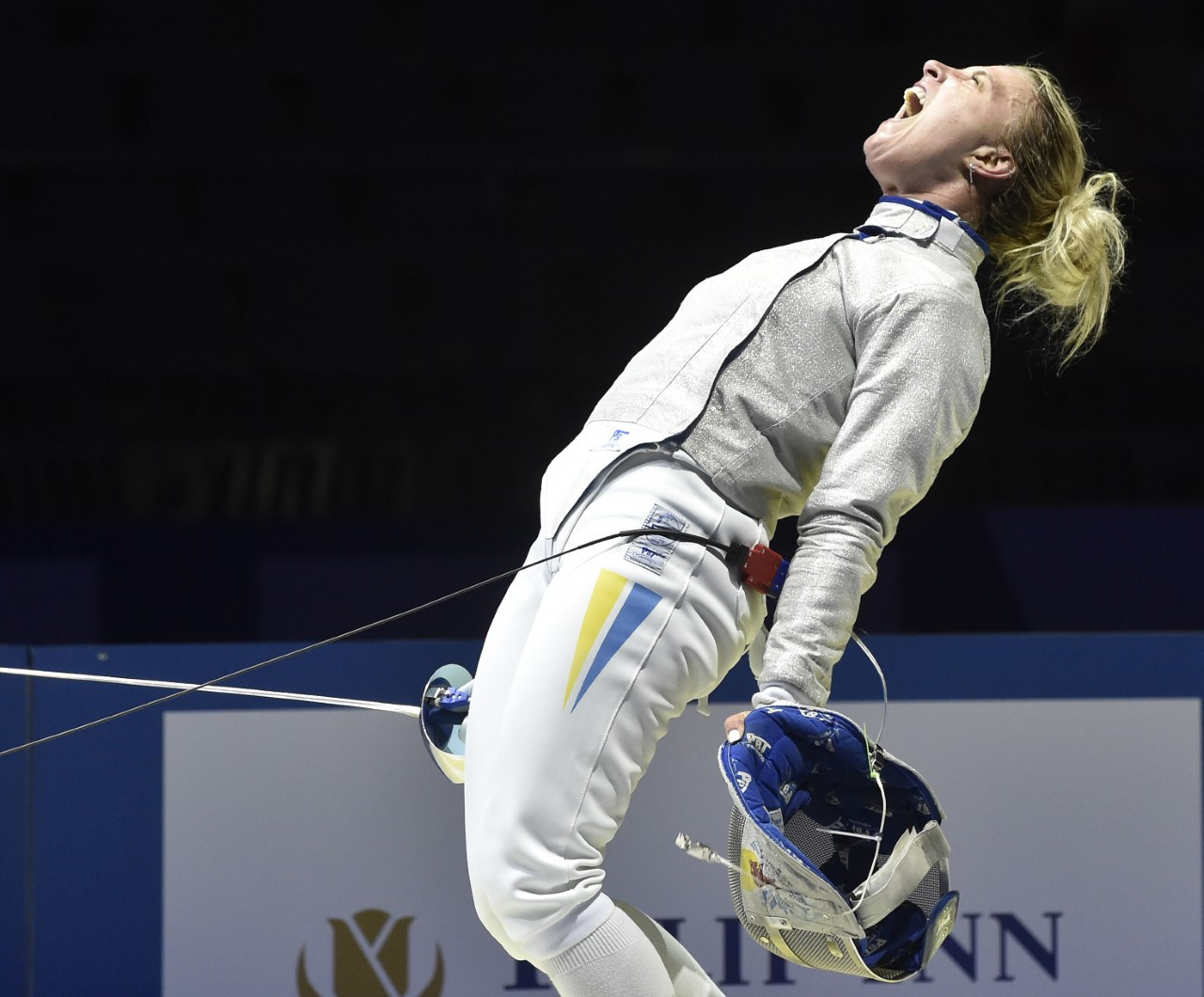 Olga Kharlan claimed her sixth European title on a dramatic first day in Düsseldorf ©FIE