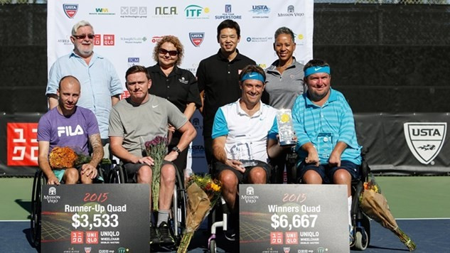 Taylor and Wagner seal ninth title on final day of UNIQLO Wheelchair Doubles Masters