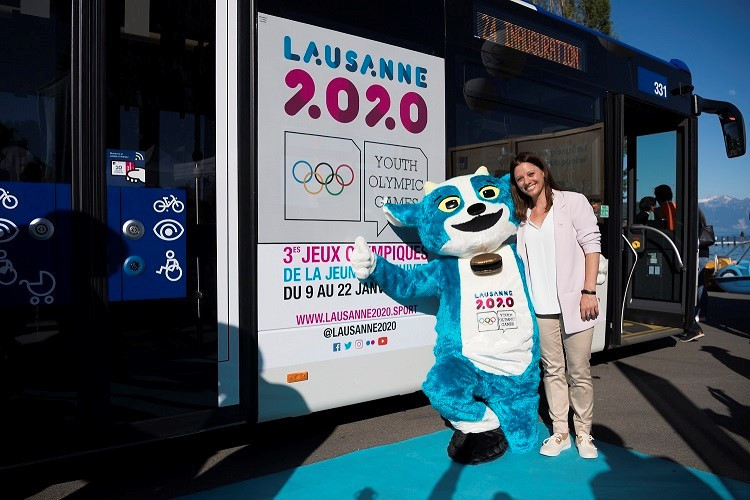 Lausanne 2020 partner with city's public transport system to promote sustainable Games