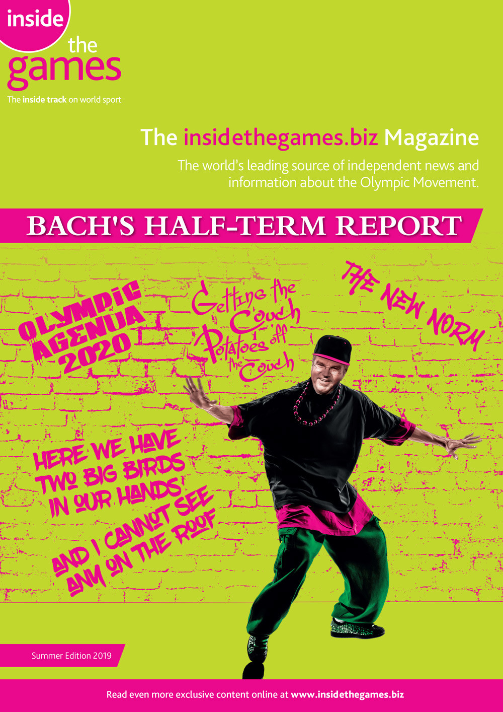 The insidethegames.biz Magazine Summer Edition 2019