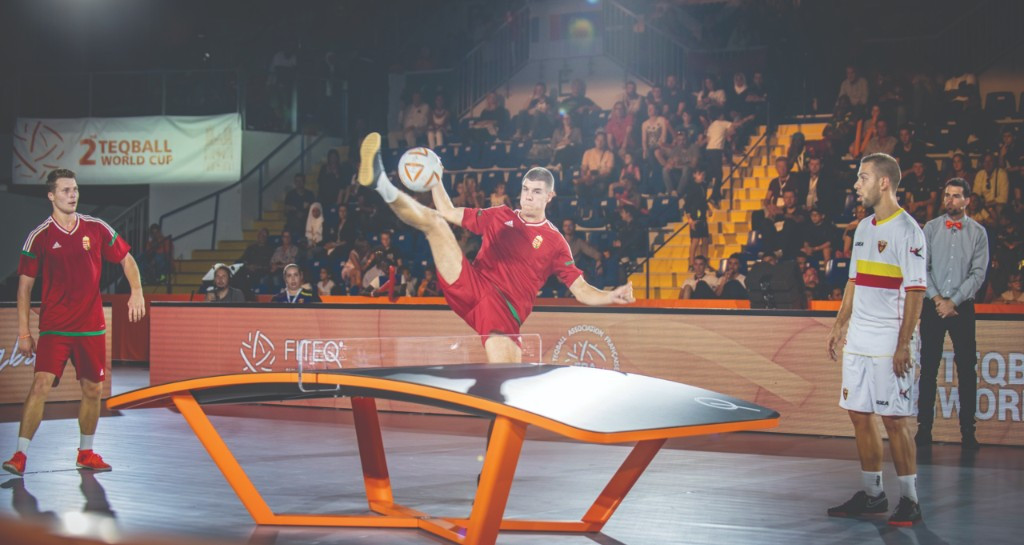 International Teqball Federation signs partnership with Eurosport to deliver sport to the world