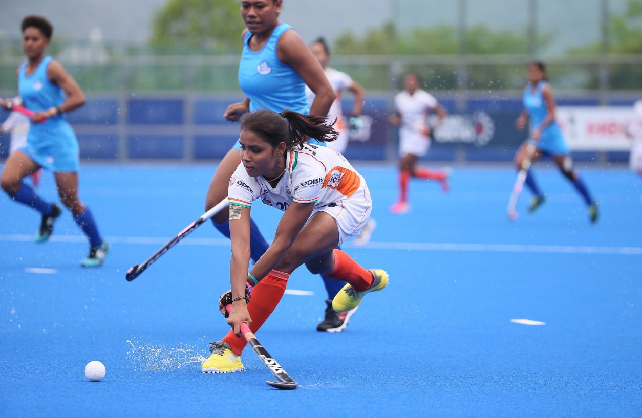 Kaur stars as India progress to FIH Women's Series Finals last four in Hiroshima
