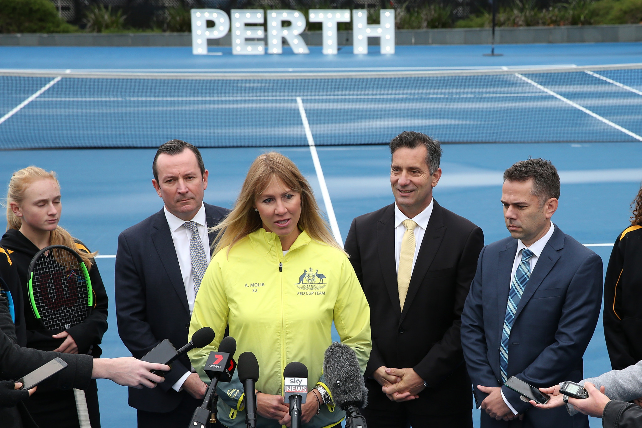Perth named as host of Fed Cup final