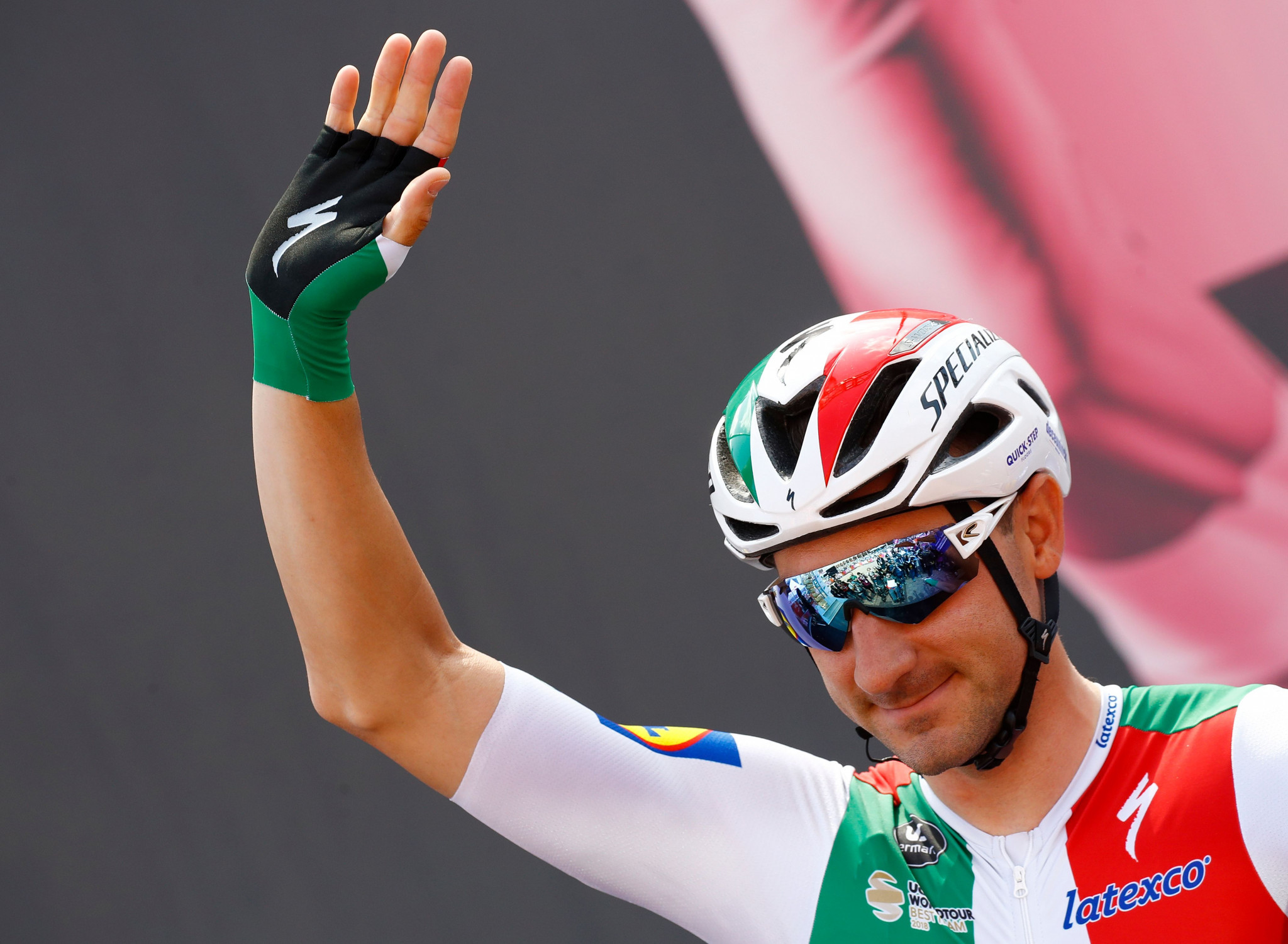 Viviani claims Tour de Suisse yellow jersey as Team Ineos rider Thomas crashes out