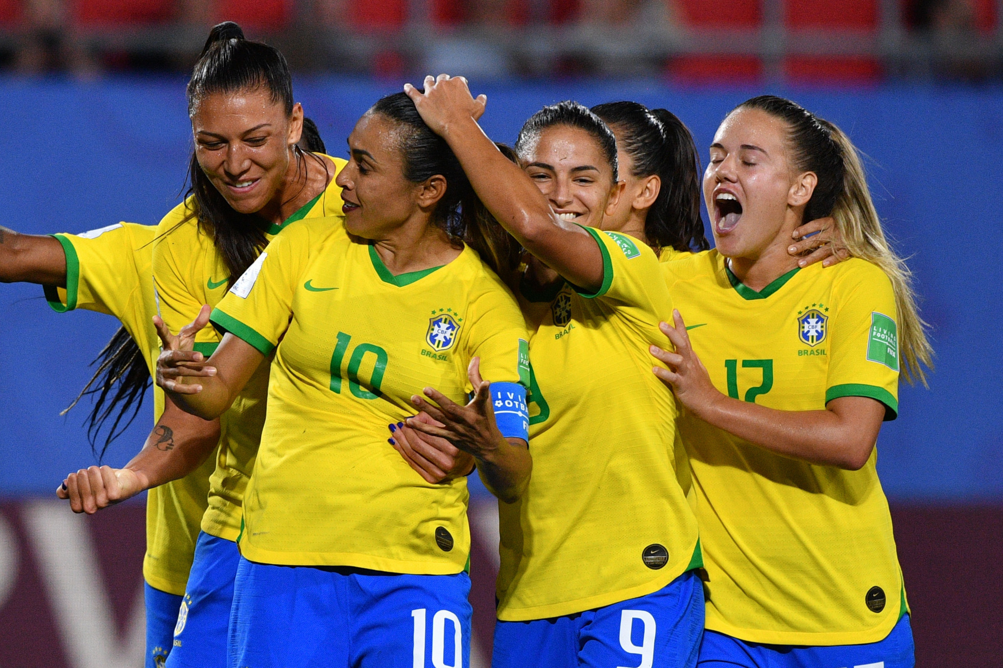 Record-breaking Marta sends Brazil into last 16 at FIFA Women's World Cup