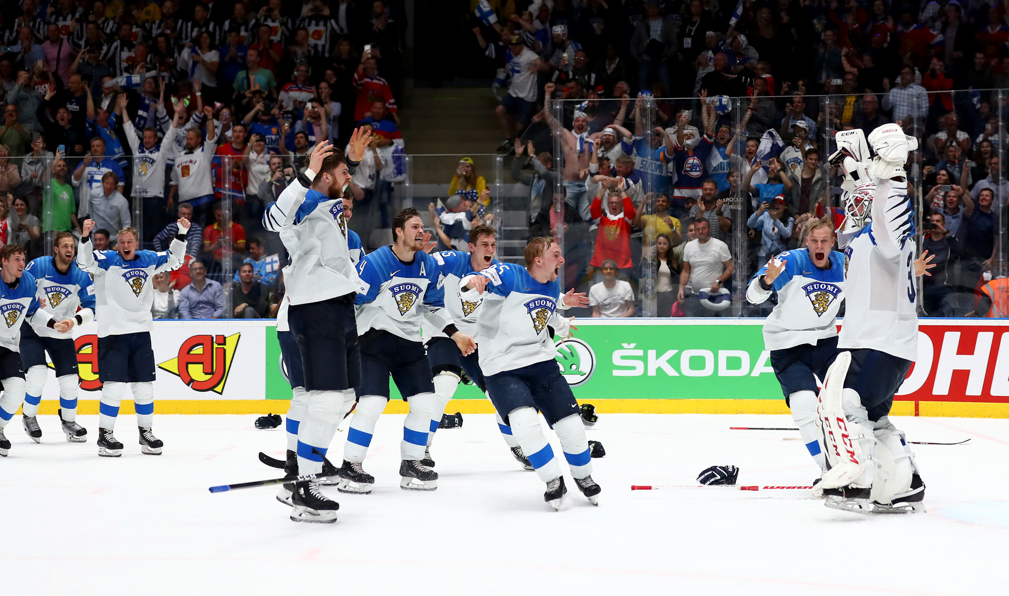 The Finnish Ice Hockey Association has signed a six-season deal with media group Discovery for the rights to more than 200 national team matches per year from the 2020-2021 campaign ©Getty Images