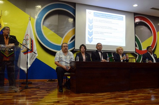 Venezuelan Olympic Committee unveil new social responsibility plan named after former vice-president
