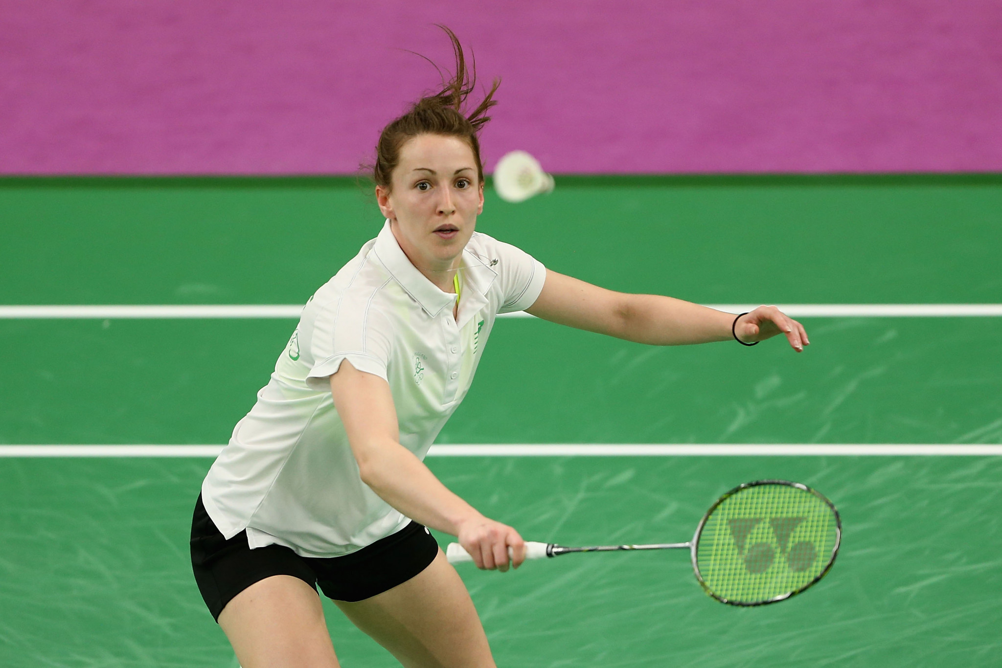 Badminton player Chloe Magee will be Ireland's flagbearer at the Opening Ceremony of the Minsk 2019 European Games ©Getty Images