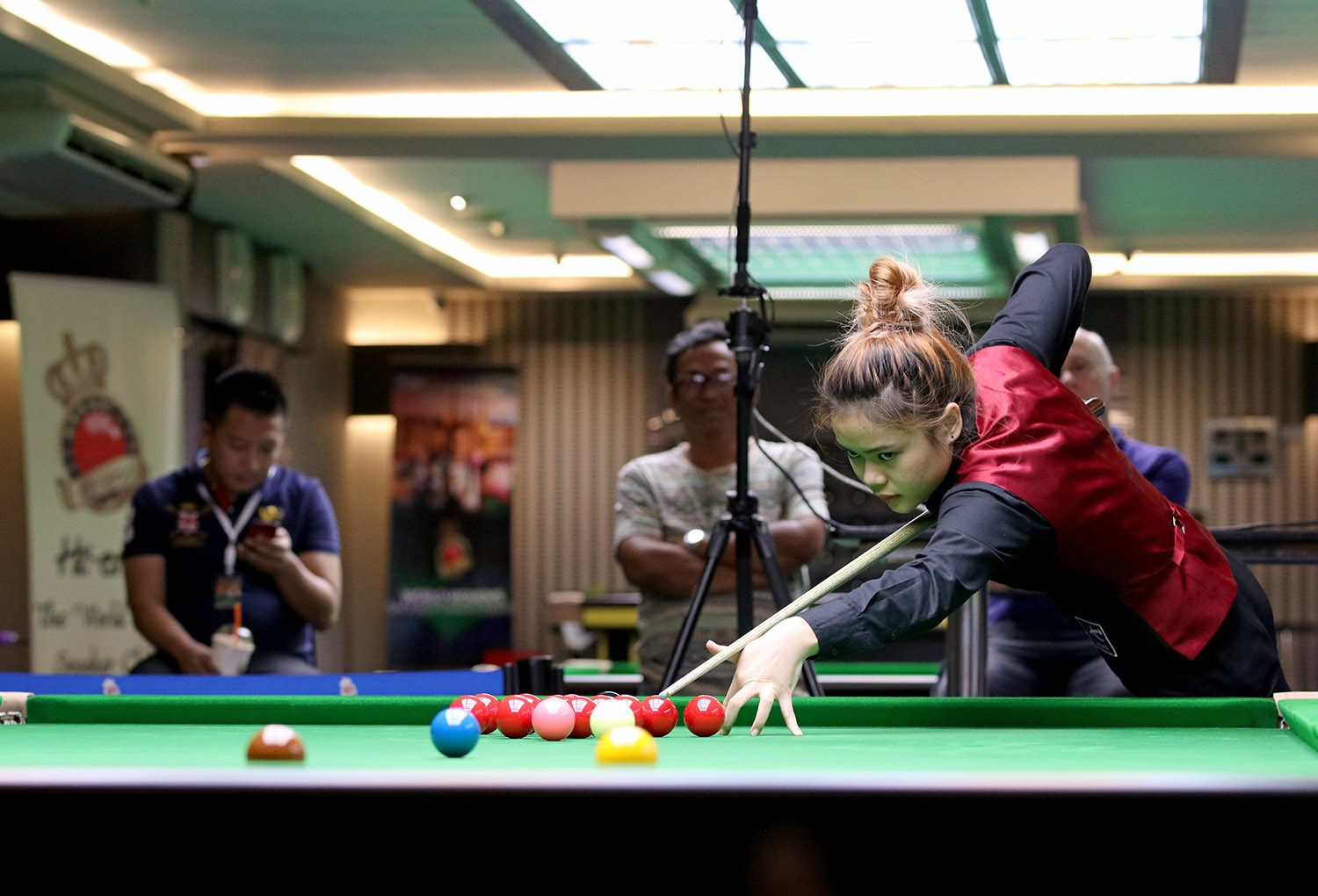 The World Women's Snooker Championship comes on the back of the inaugural Women's Snooker World Cup in Bangkok, where hosts Thailand triumphed ©WPBSA