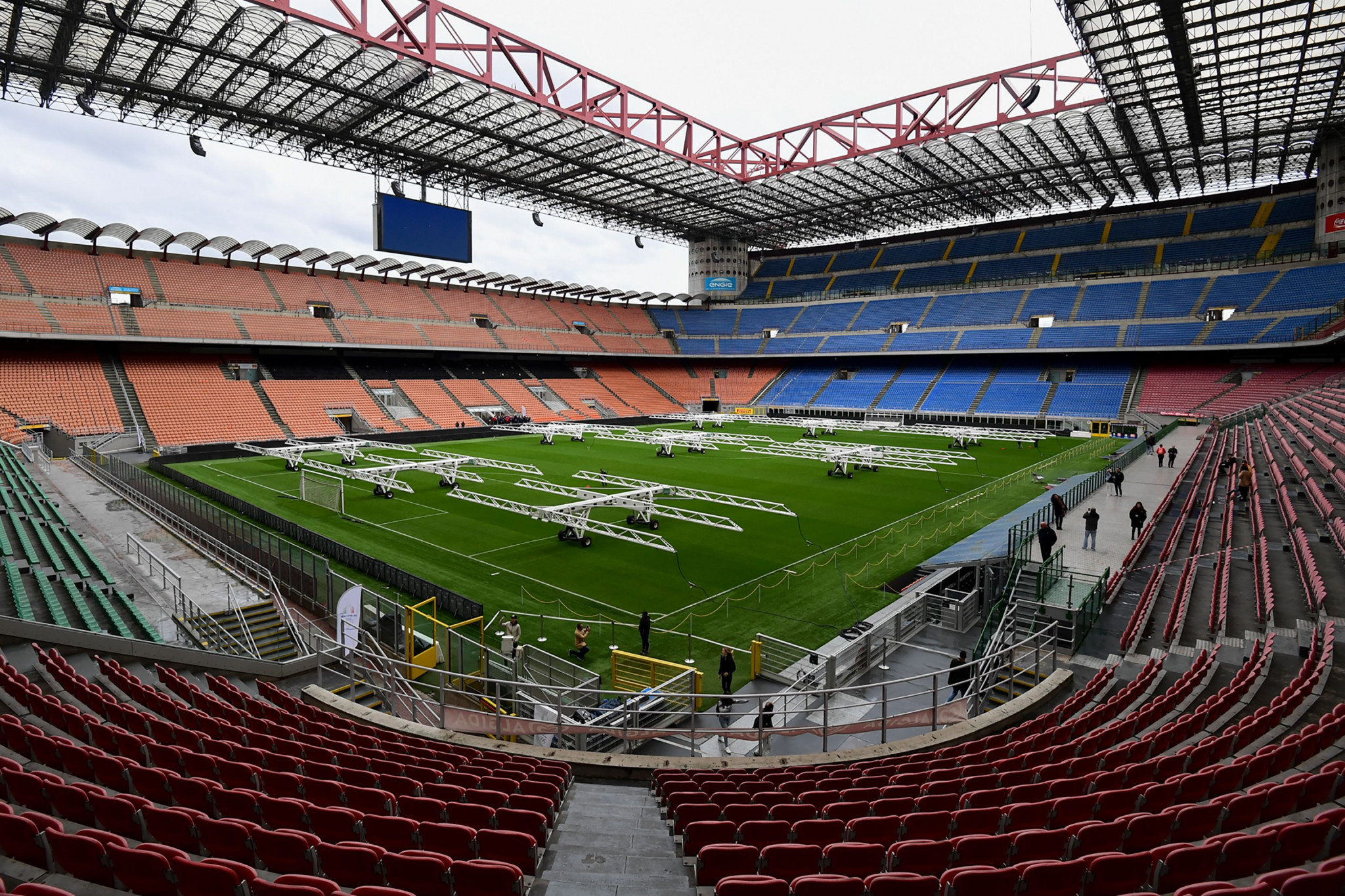San Siro is due to host the Opening Ceremony if Milan Cortina is awarded the 2026 Winter Olympic and Paralympic Games ©Getty Images