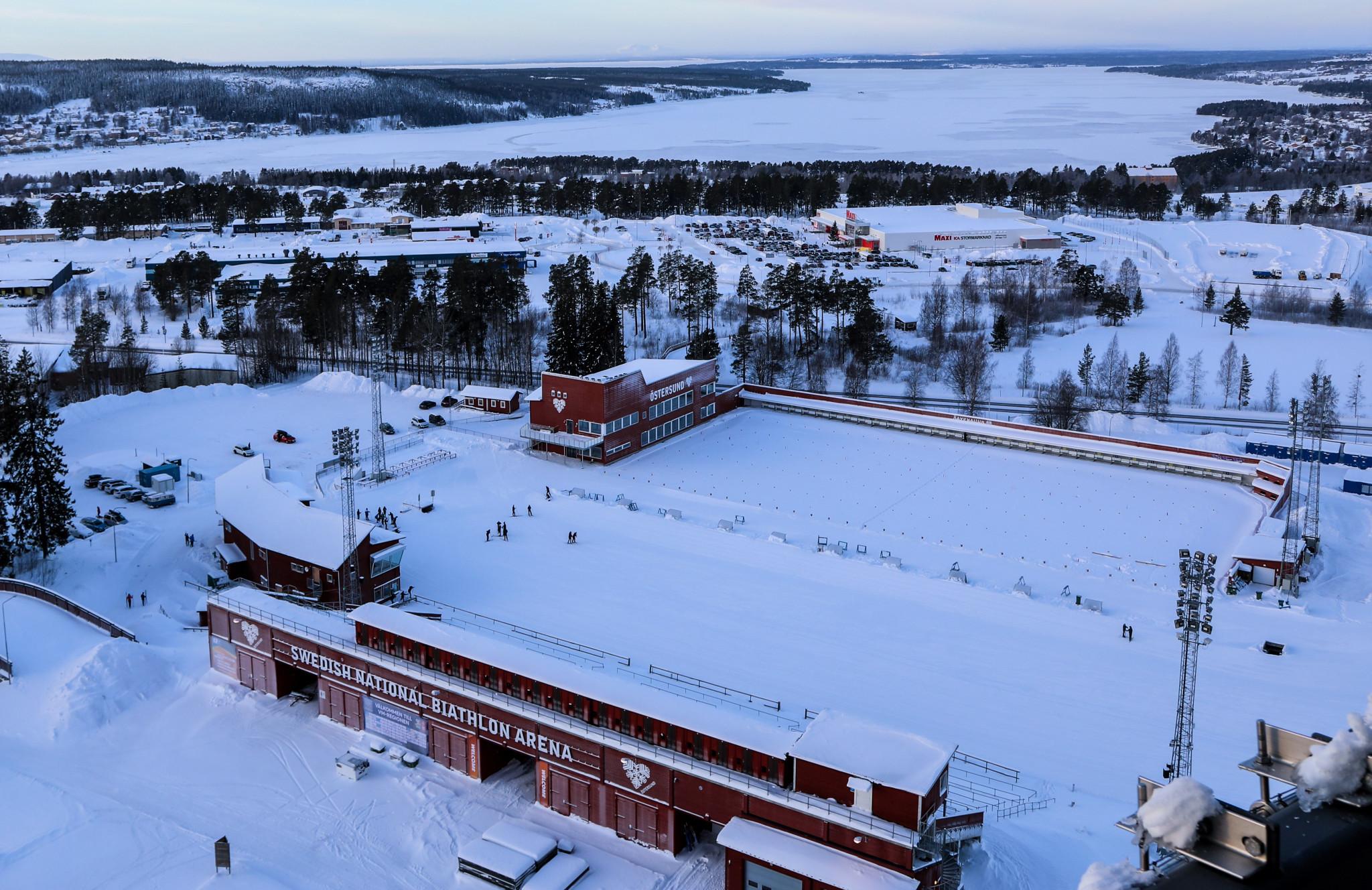The Swedish National Biathlon Arena in Östersund ©Karl Nilsson
