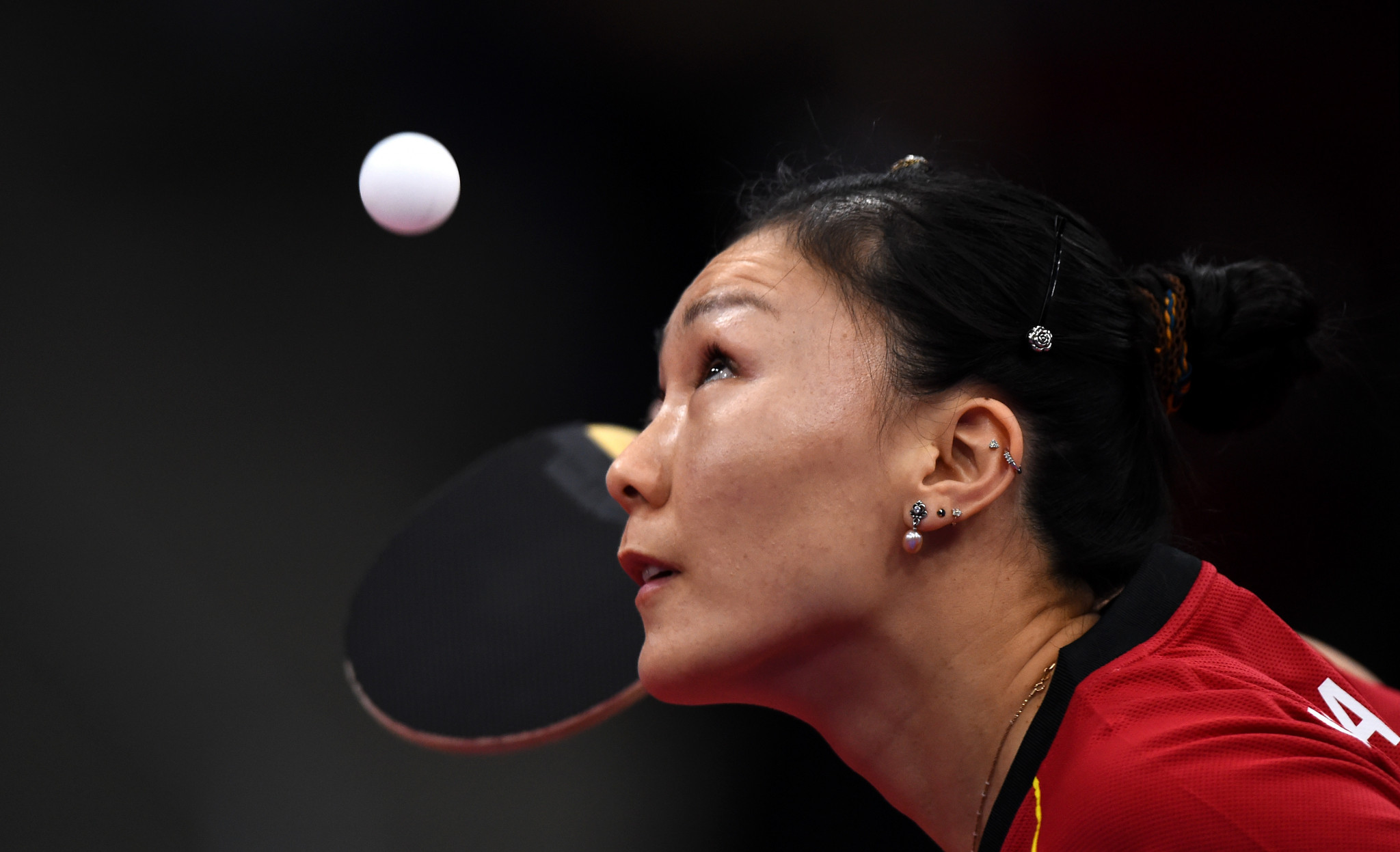 Both table tennis finalists at Minsk 2019 will earn Olympic qualification places ©Getty Images