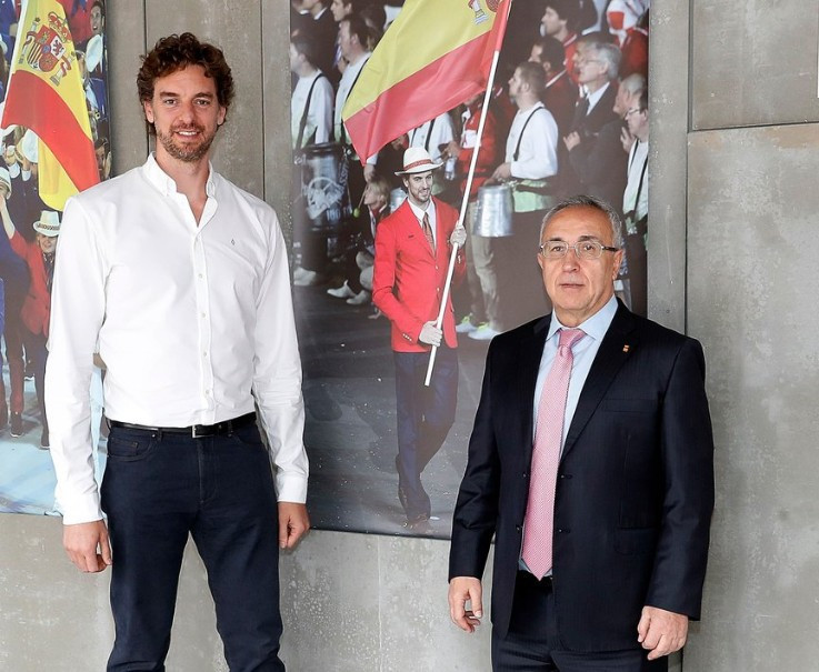 Spanish basketball star Gasol to stand in IOC Athletes Commission elections at Tokyo 2020