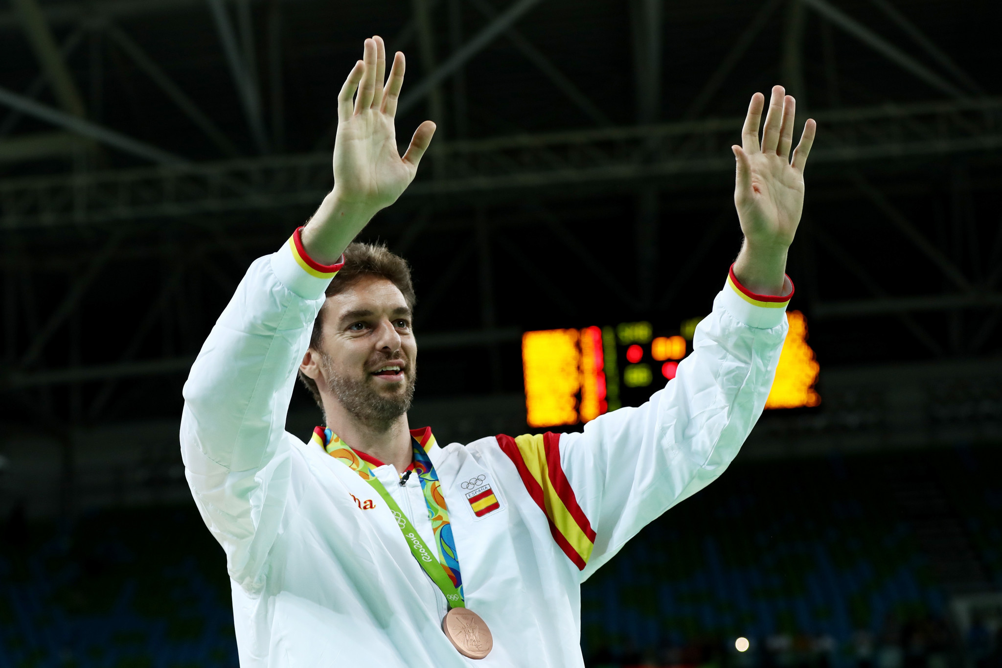 Pau Gasol has won three Olympic medals during his career ©Getty Images
