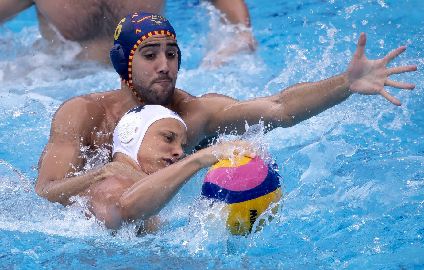 Hungary bounce back from opening-day loss to beat Spain at FINA Men's Water Polo World League Super Final