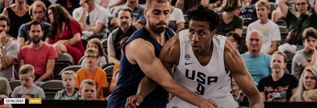 Serbian champions' 15-win run ended by United States in FIBA 3x3 World Cup