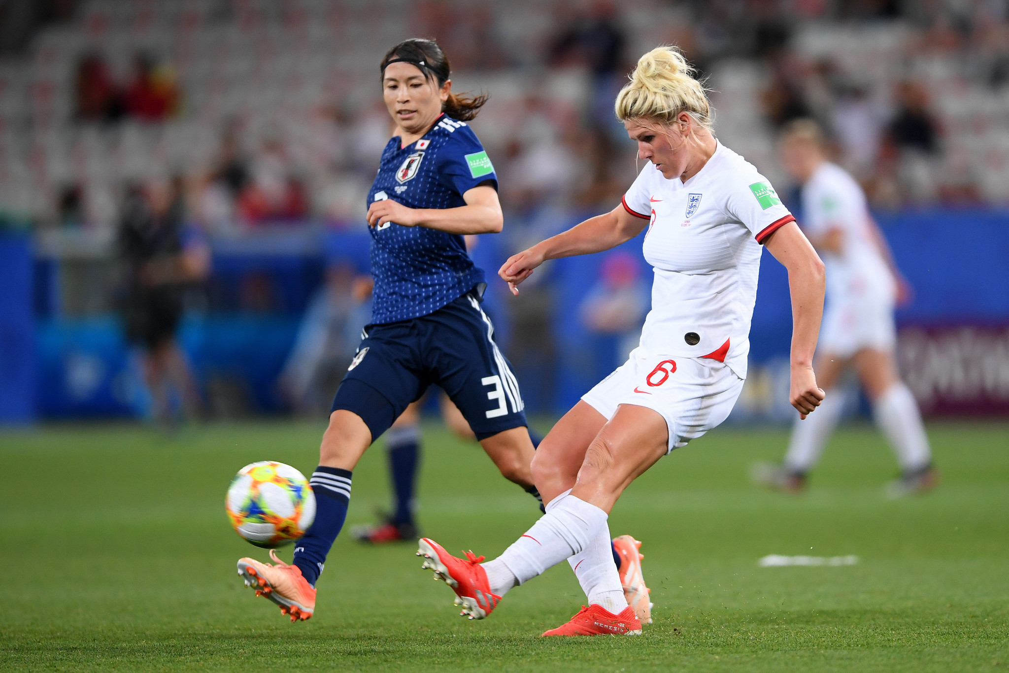 England beat Japan in a rematch of the 2015 FIFA Women's World Cup semi-final ©Getty Images