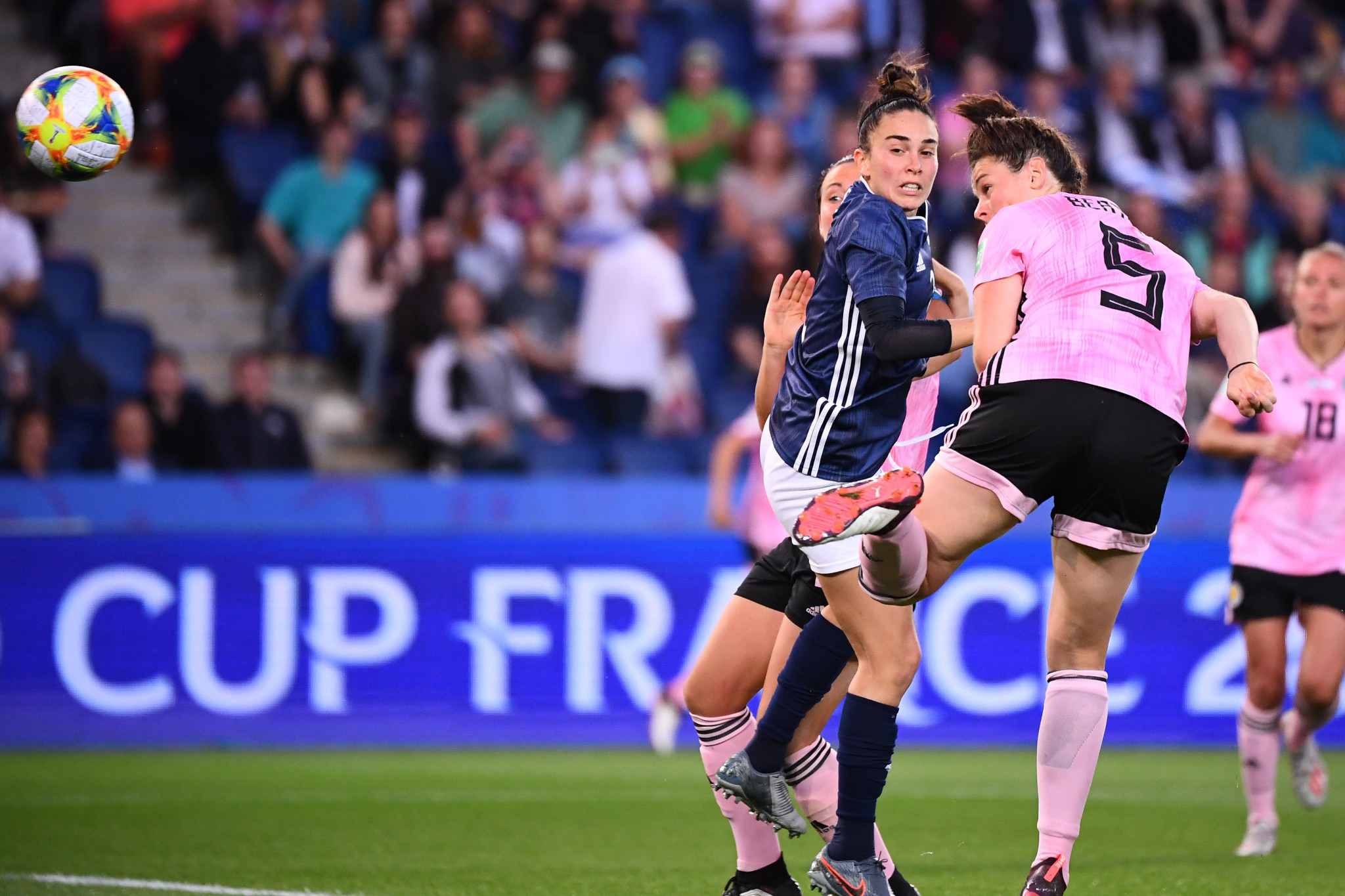 Jennifer Beattie made it 2-0 in the 49th minute ©Getty Images