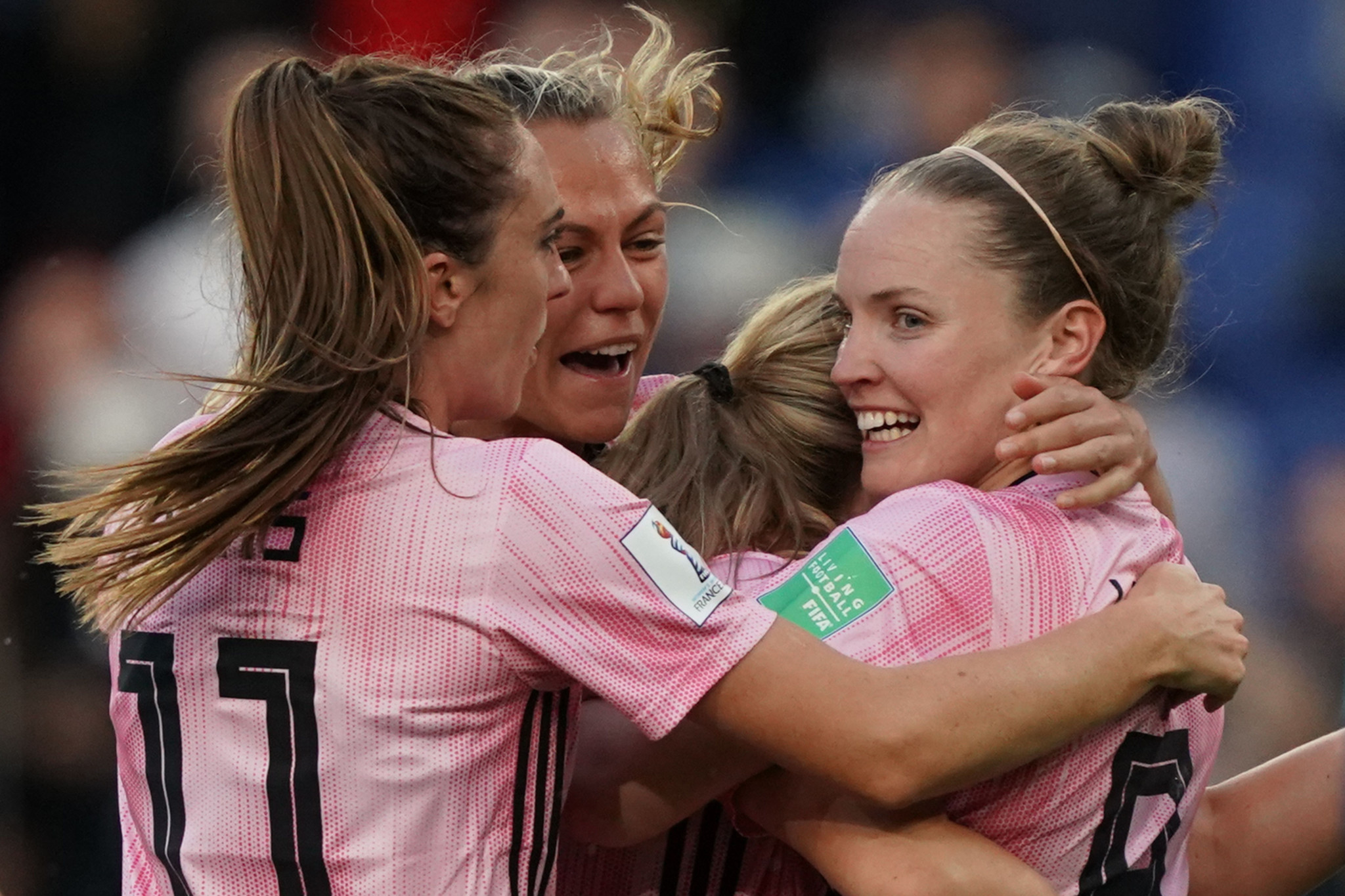 Scotland needed to beat Argentina to have a chance of progression, with Kim Little opening the scoring for them ©Getty Images