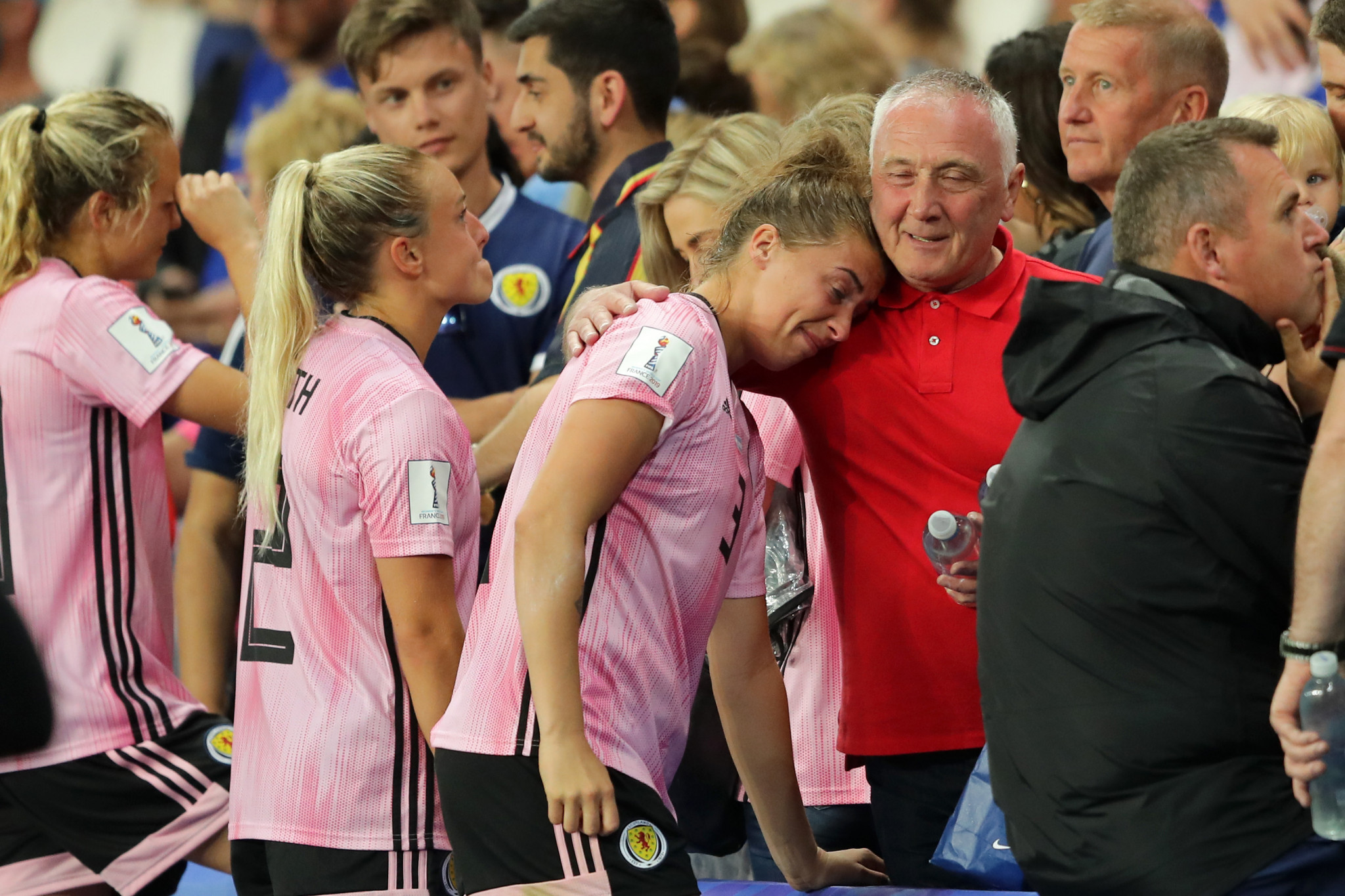 Scotland were left heartbroken as their World Cup ended ©Getty Images