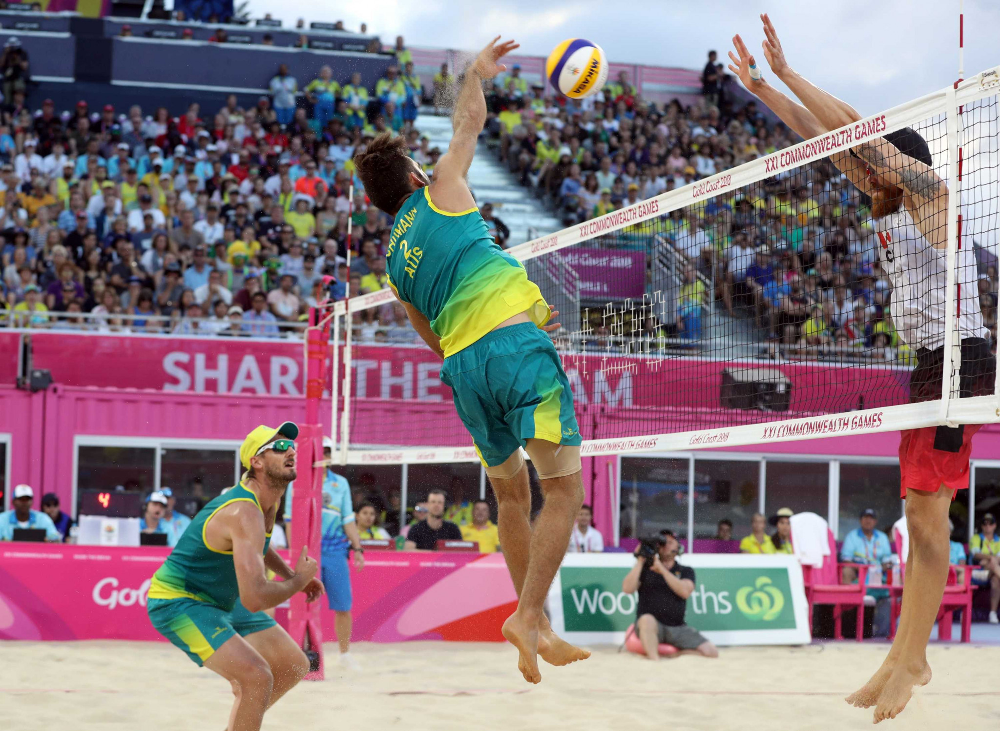 Beach volleyball made its Commonwealth Games debut at Gold Coast 2018 and is set for a second appearance at Birmingham 2022 when it is added by the CGF Executive Board ©Getty Images