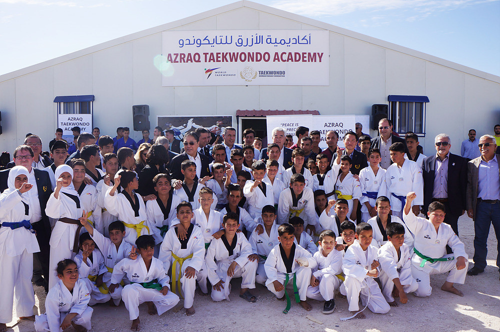World Taekwondo reinforce commitment to power of sport on World Refugees Day