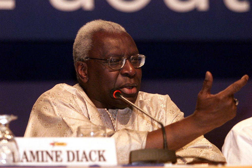 Lamine Diack remains in France under house arrest ©Getty Images
