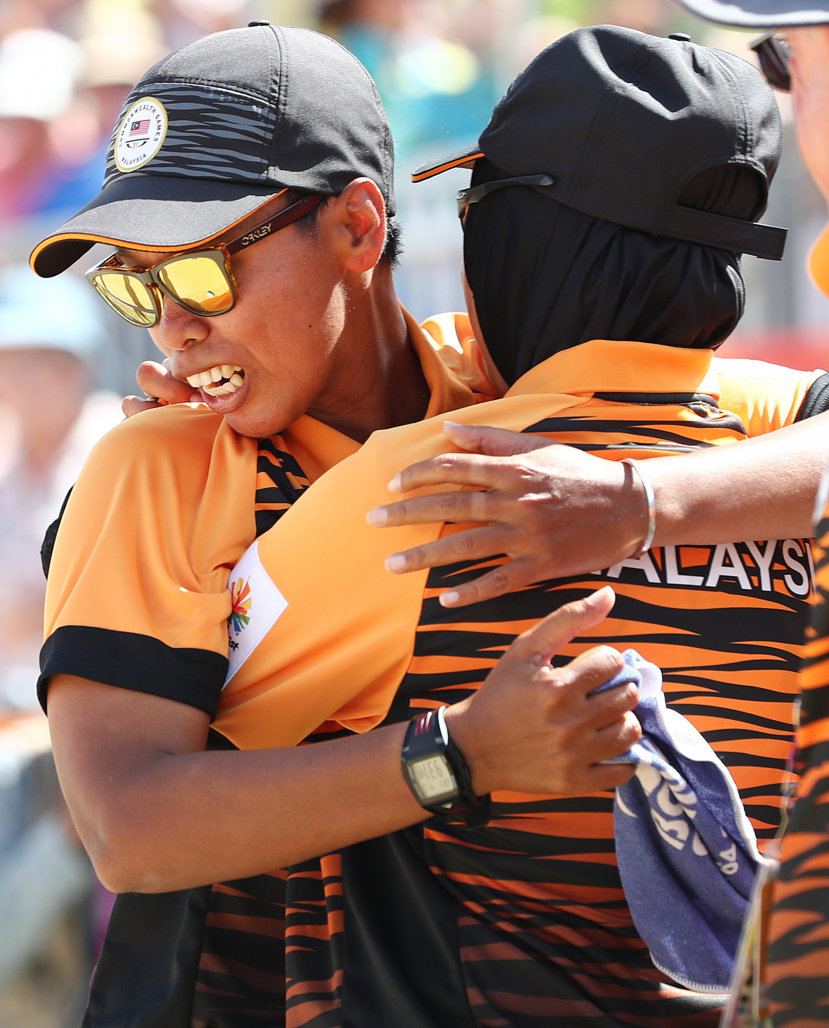 Malaysia's Siti Zalina Ahmad continued her good form in the women's singles ©Getty Images