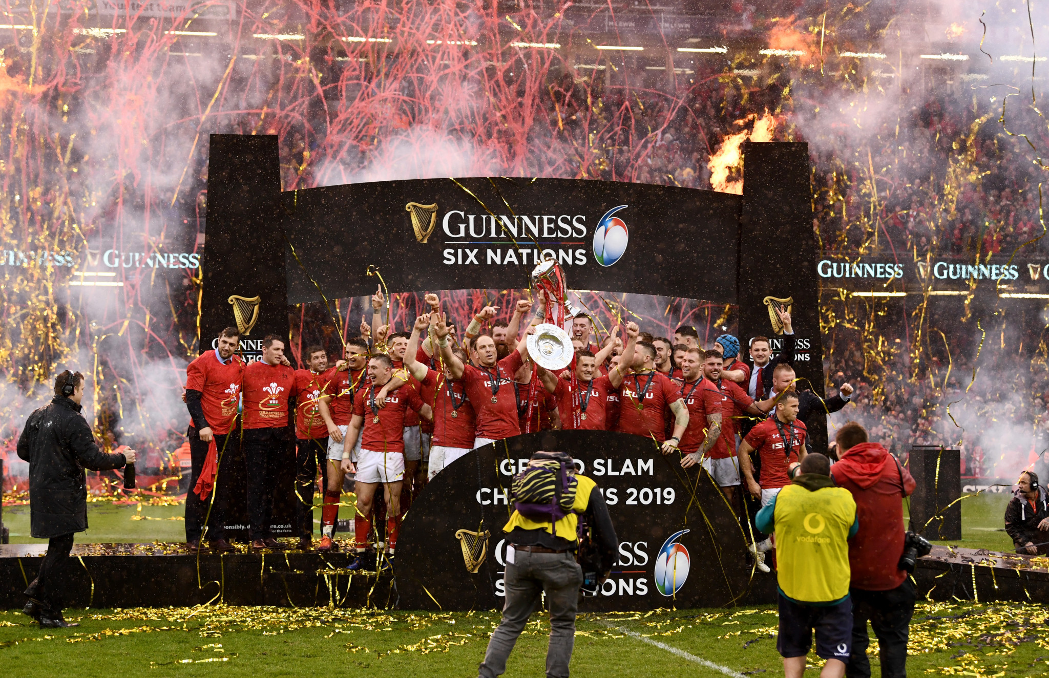 The original suggestion for the Nations Championship was a 12-strong league of the world's best teams, split between the current Six Nations and Rugby Championship ©Getty Images