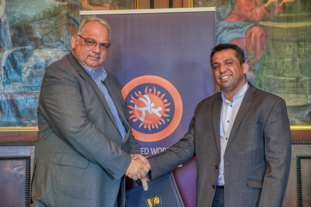 United World Wrestling awards rights contract to Sporty Solutionz for Indian sub-continent