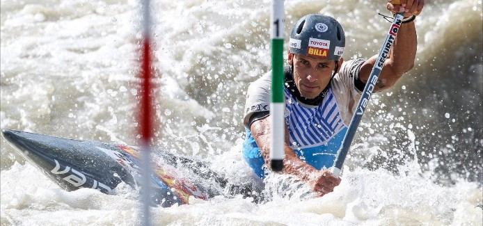 Slovakia's big three set for epic clash at home ICF Canoe Slalom World Cup in Bratislava