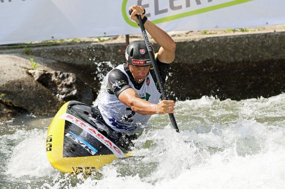 Slovakia's Alexander Slafkovský, the reigning ICF Canoe Slalom World Cup champion in the men's C1 class, will be hoping to perform well in front of a home crowd in Bratislava ©ICF