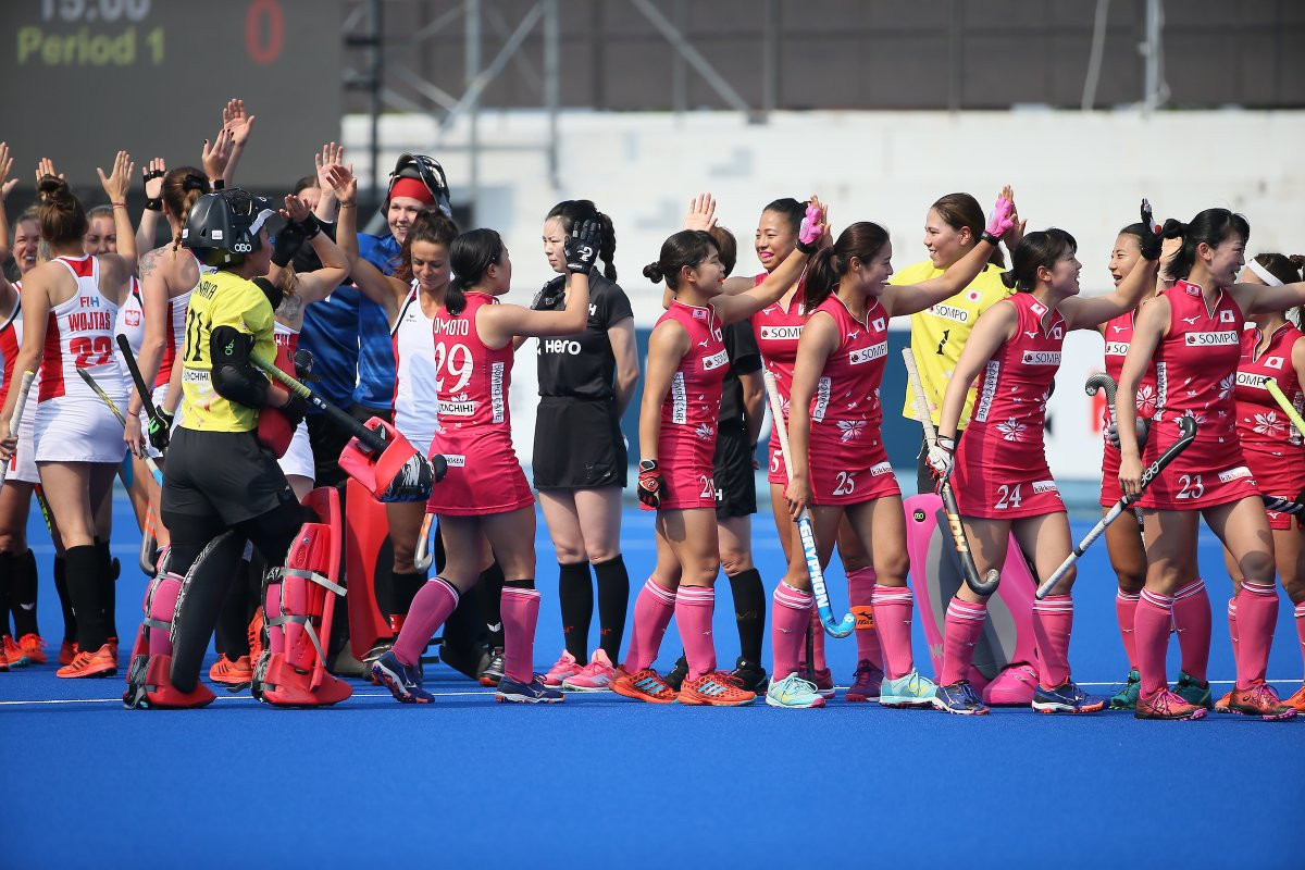 Hosts Japan and Chile win crossover games to reach semi-finals at FIH Women's Series Finals in Hiroshima