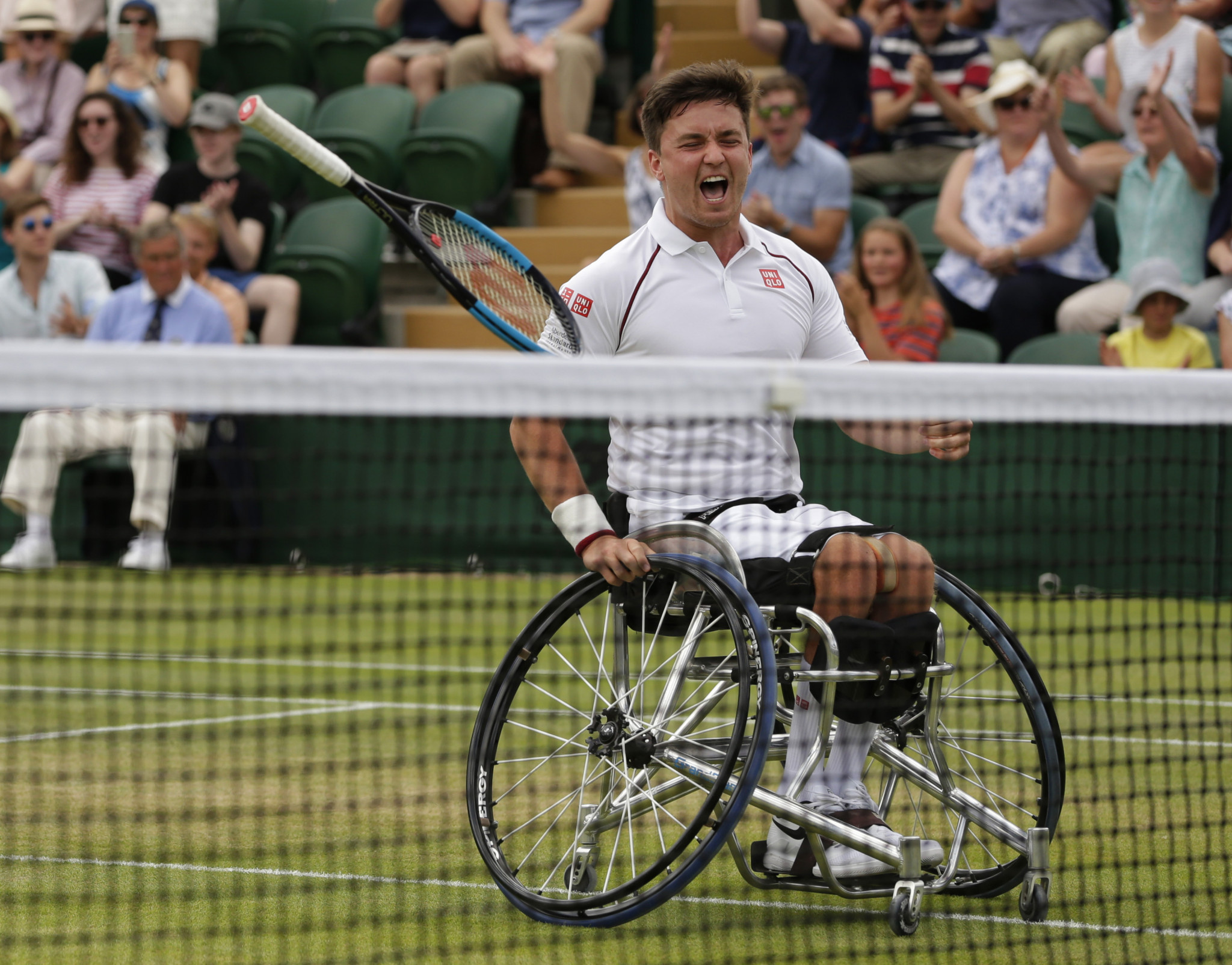 Gordon Reid will make his return to Wimbledon ©Getty Images