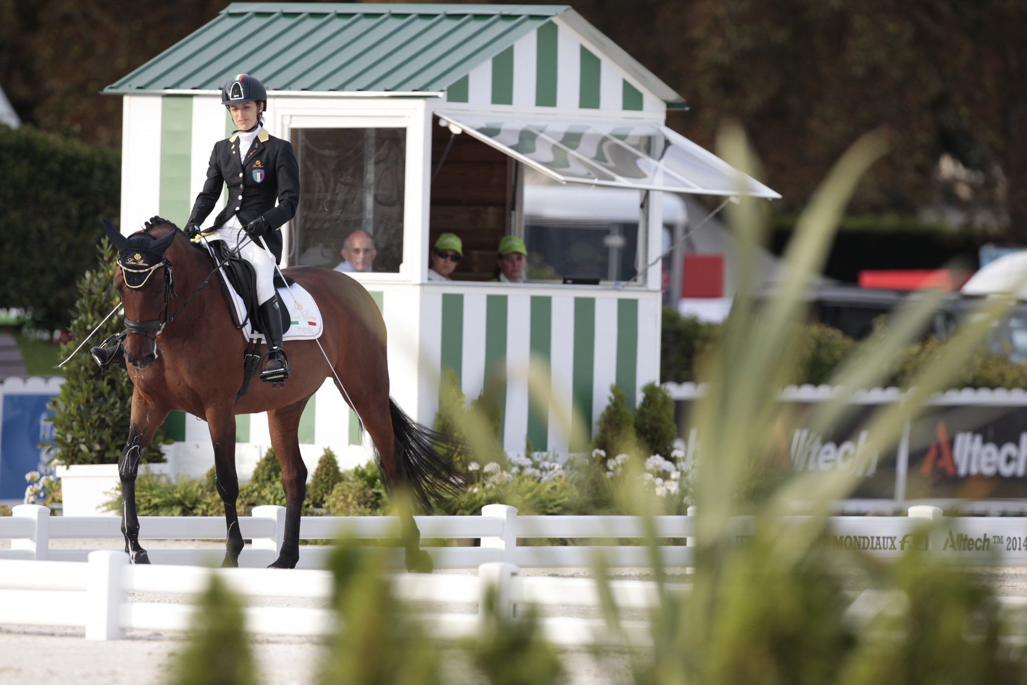 Dressage rider Sara Morganti scooped the women's accolade in Rome ©Getty Images