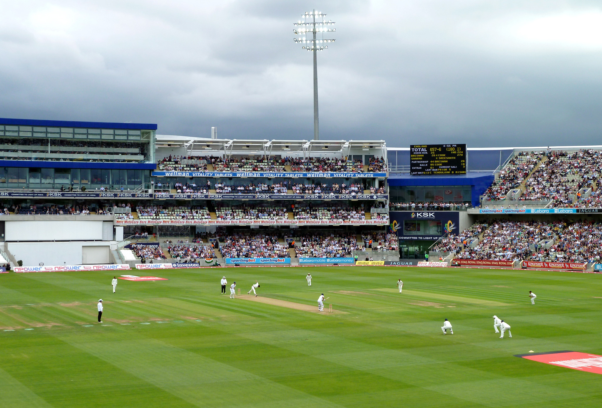 Edgbaston Stadium is to host all the matches during the women's cricket tournament at Birmingham 2022 ©Wikipedia