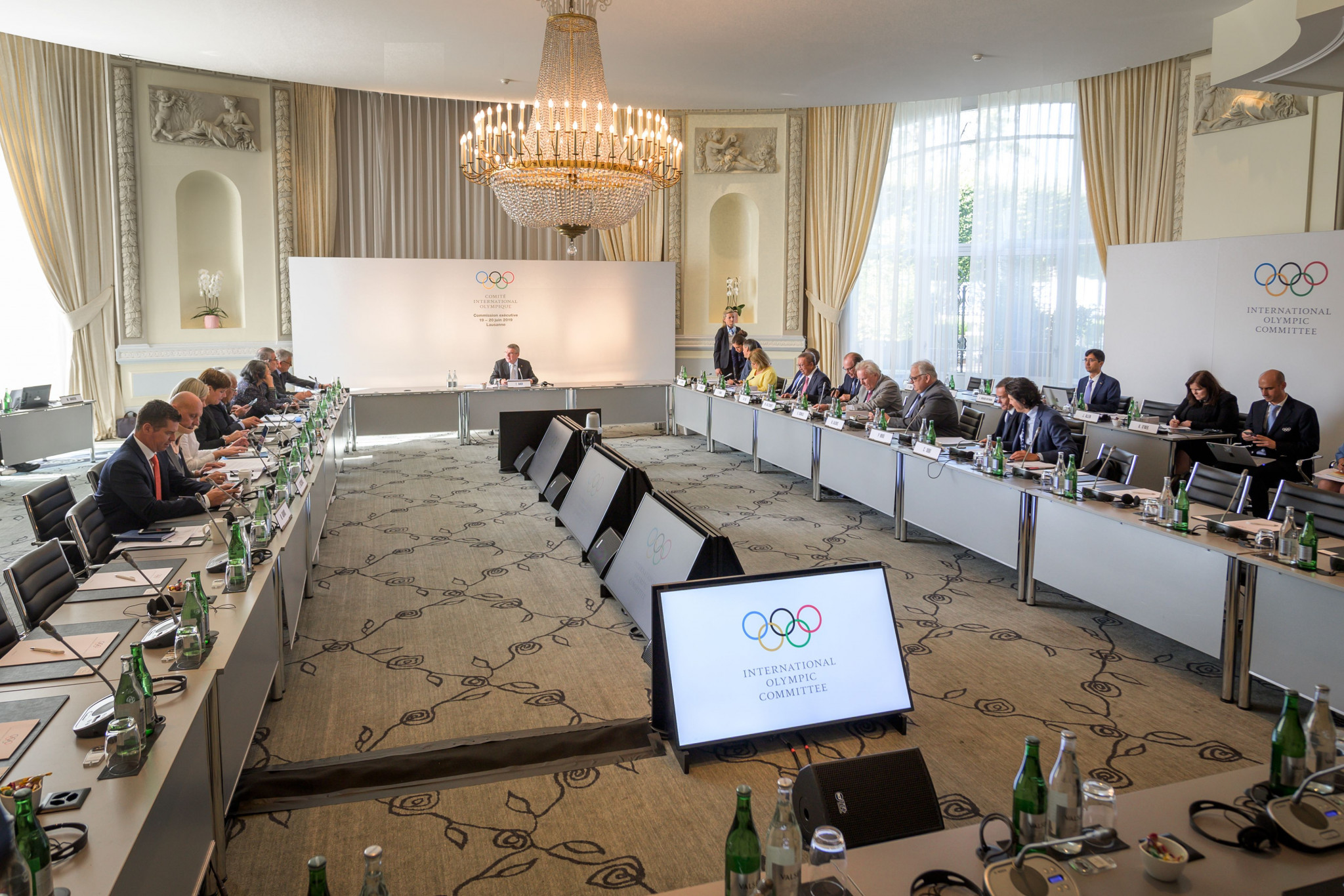The suspension was lifted by the IOC Executive Board at its meeting today ©Getty Images