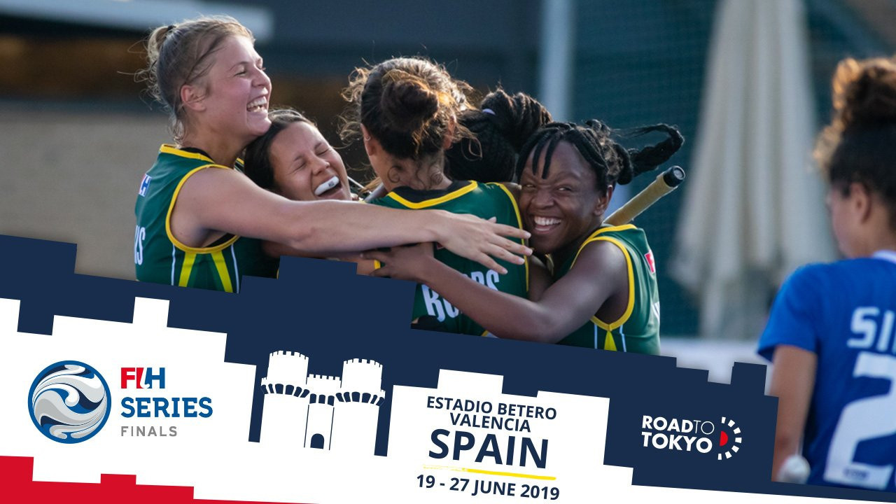 South Africa beat Italy 2-1 today at the FIH Women's Series Finals event in Valencia ©FIH
