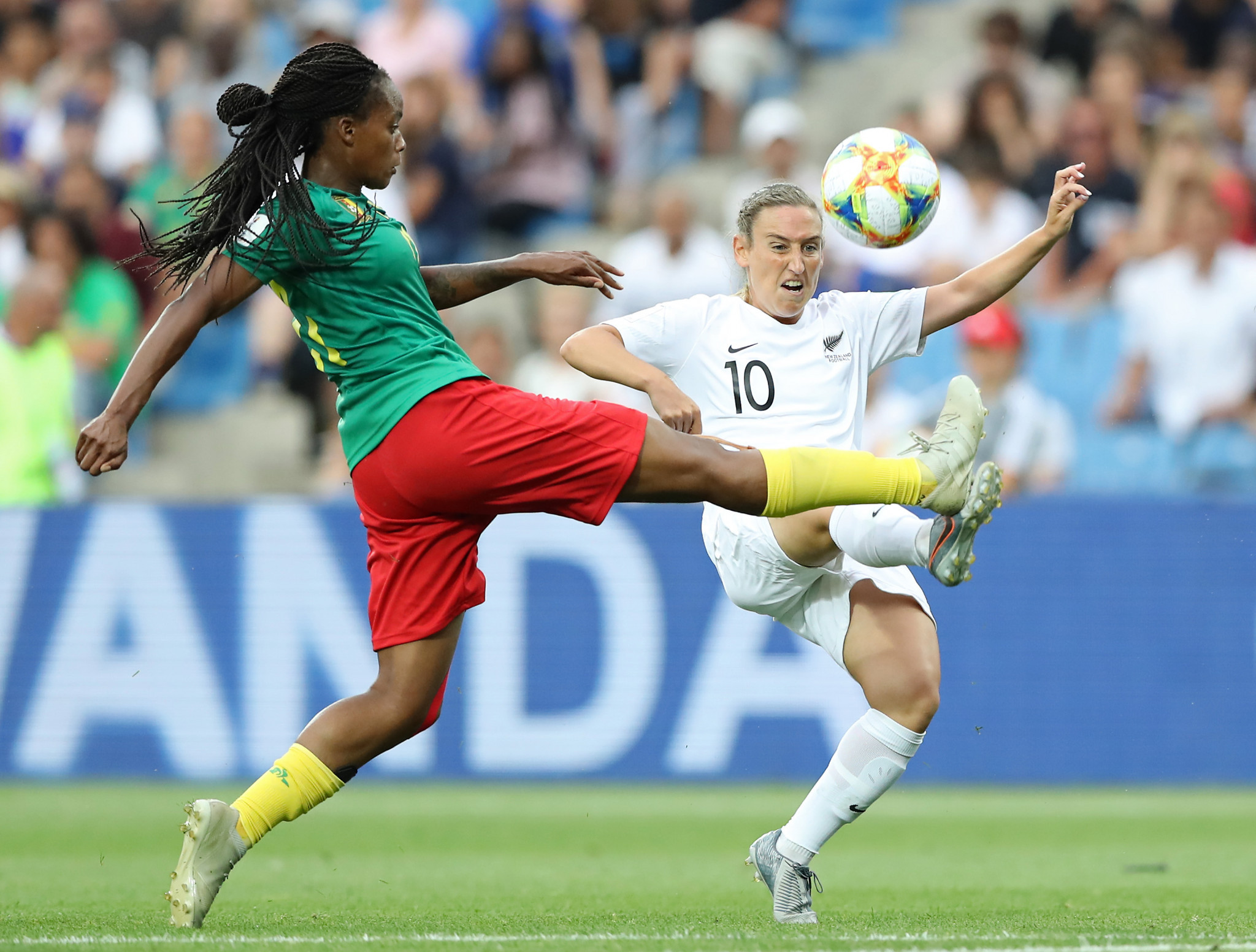 Cameroon edged past New Zealand to reach the last 16 of the FIFA Women's World Cup ©Getty Images