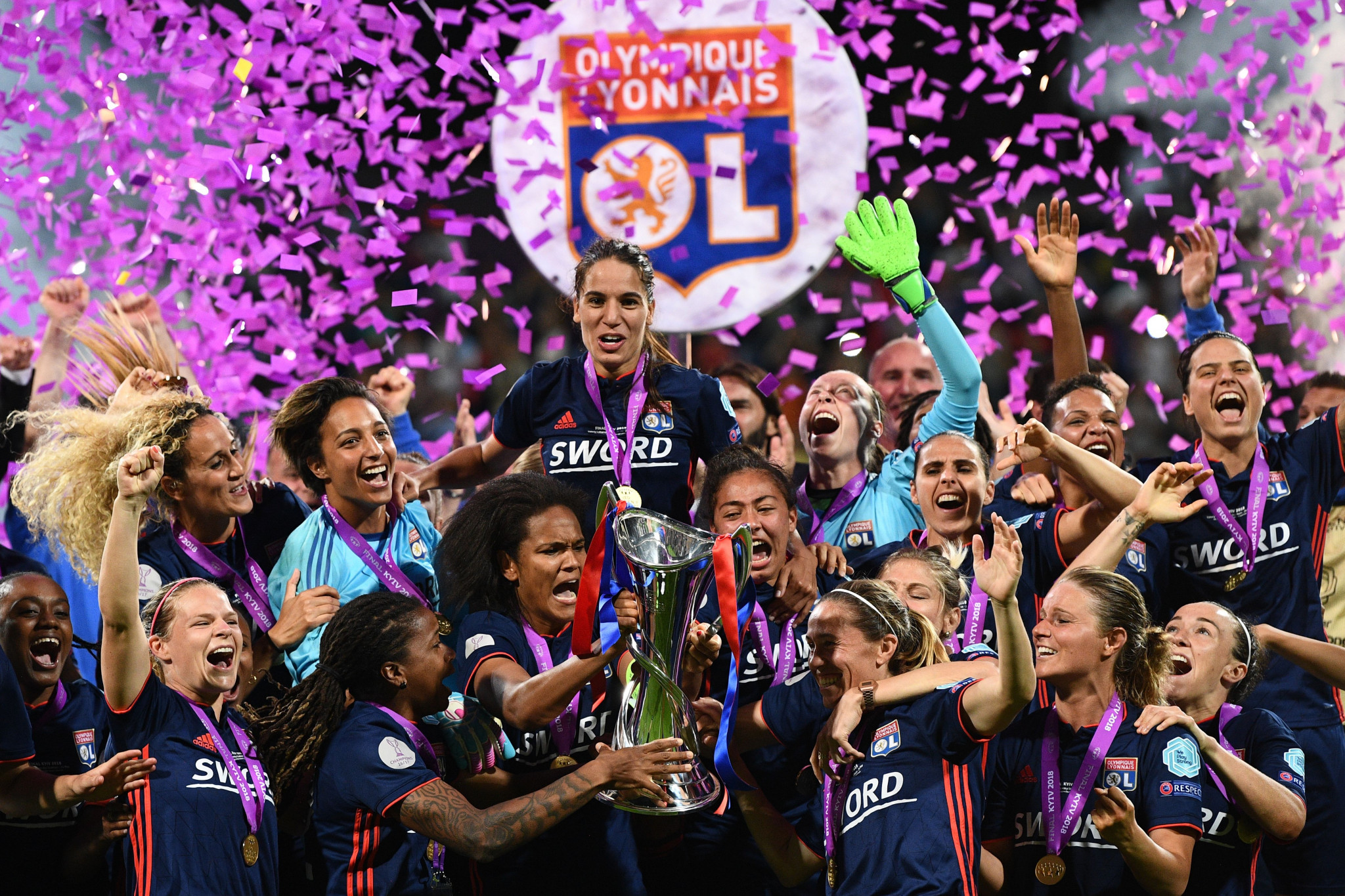 UEFA Women's Champions League victors Olympique Lyon of France will receive the second-highest payout from FIFA for the Women's World Cup currently taking place in France ©Getty Images