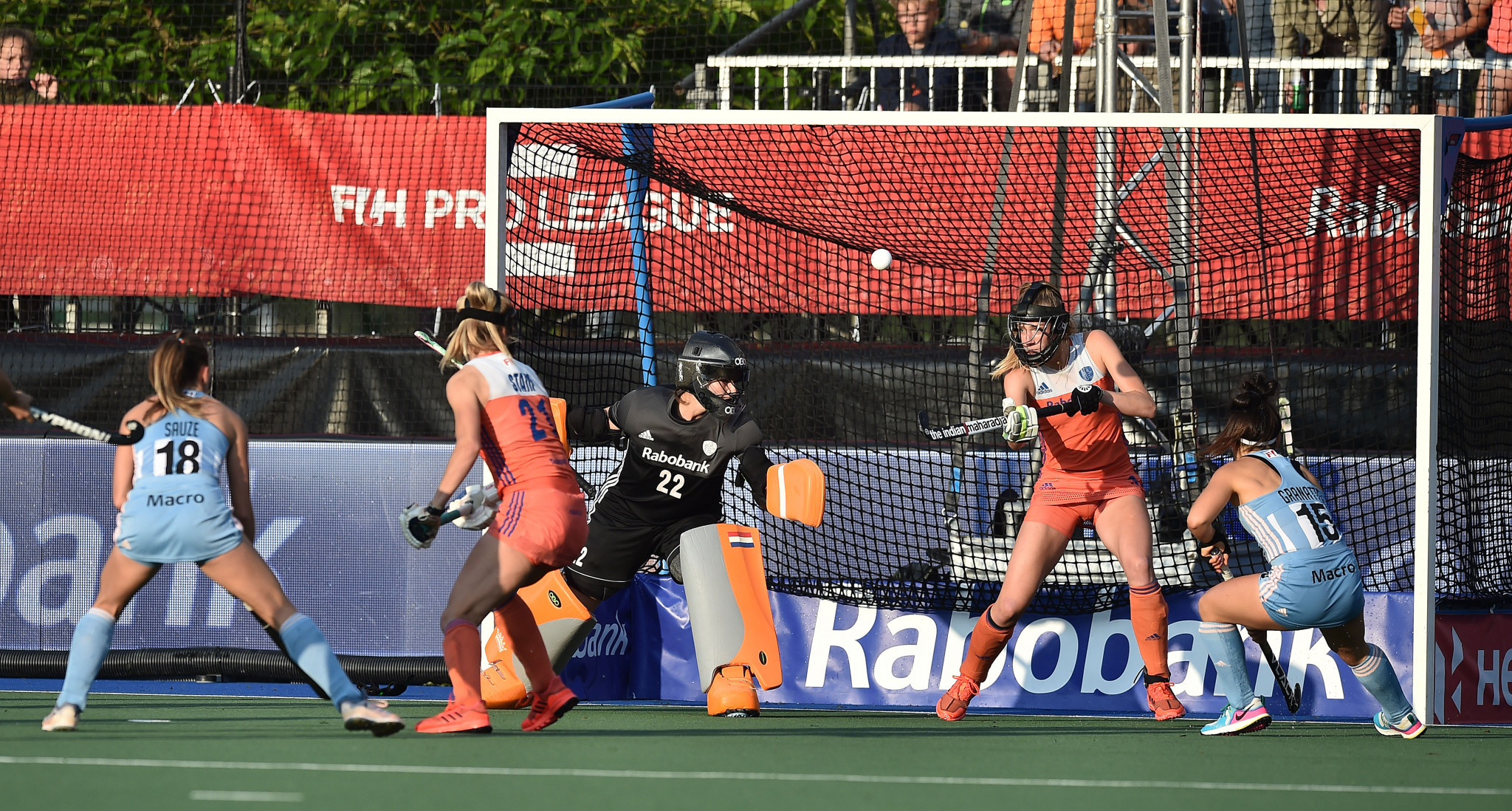 Netherlands clinch top spot in women's FIH Pro League with victory over Argentina