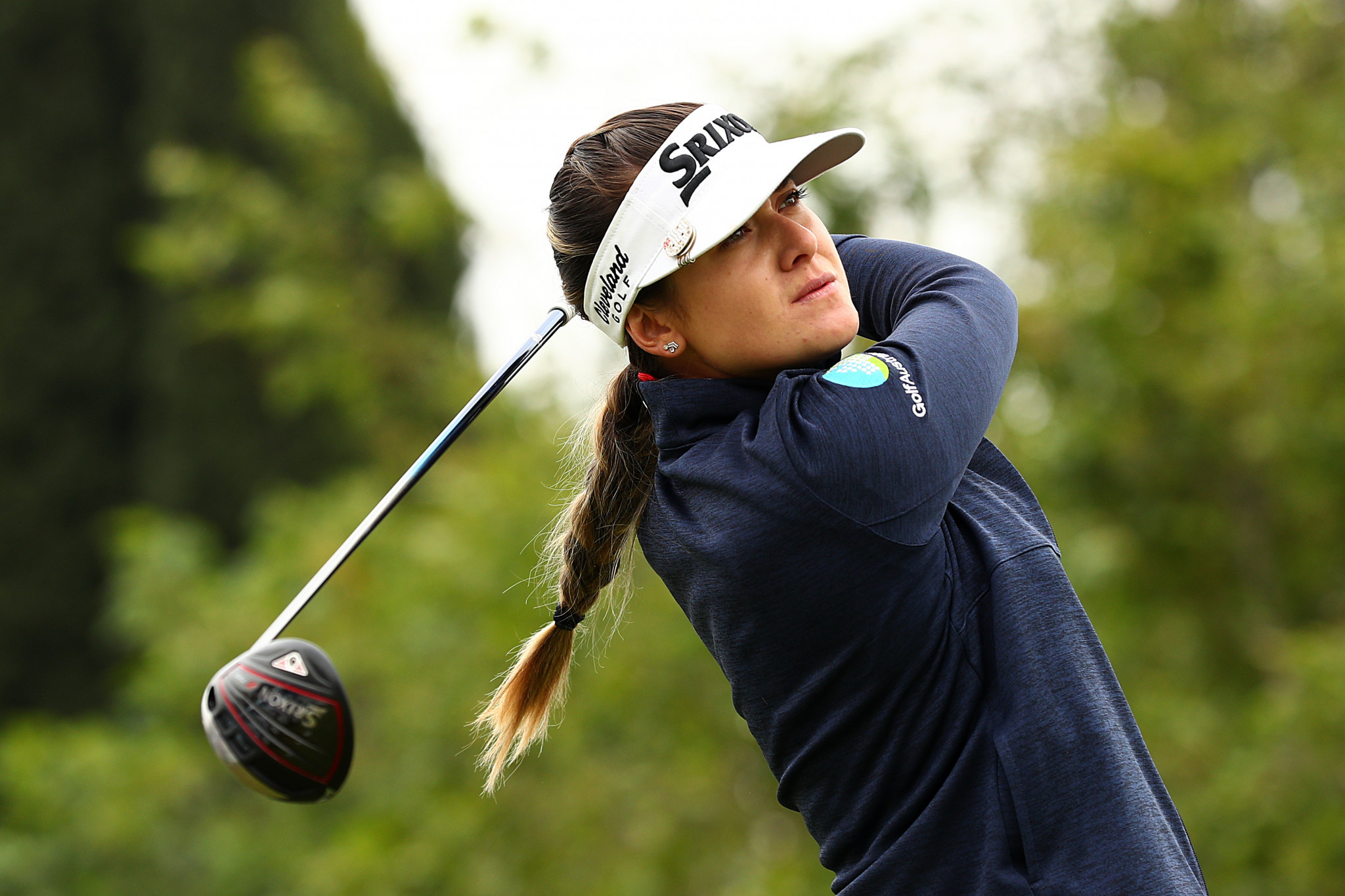 Australia's Green leads by one stroke after wet opening day at Women's PGA Championship