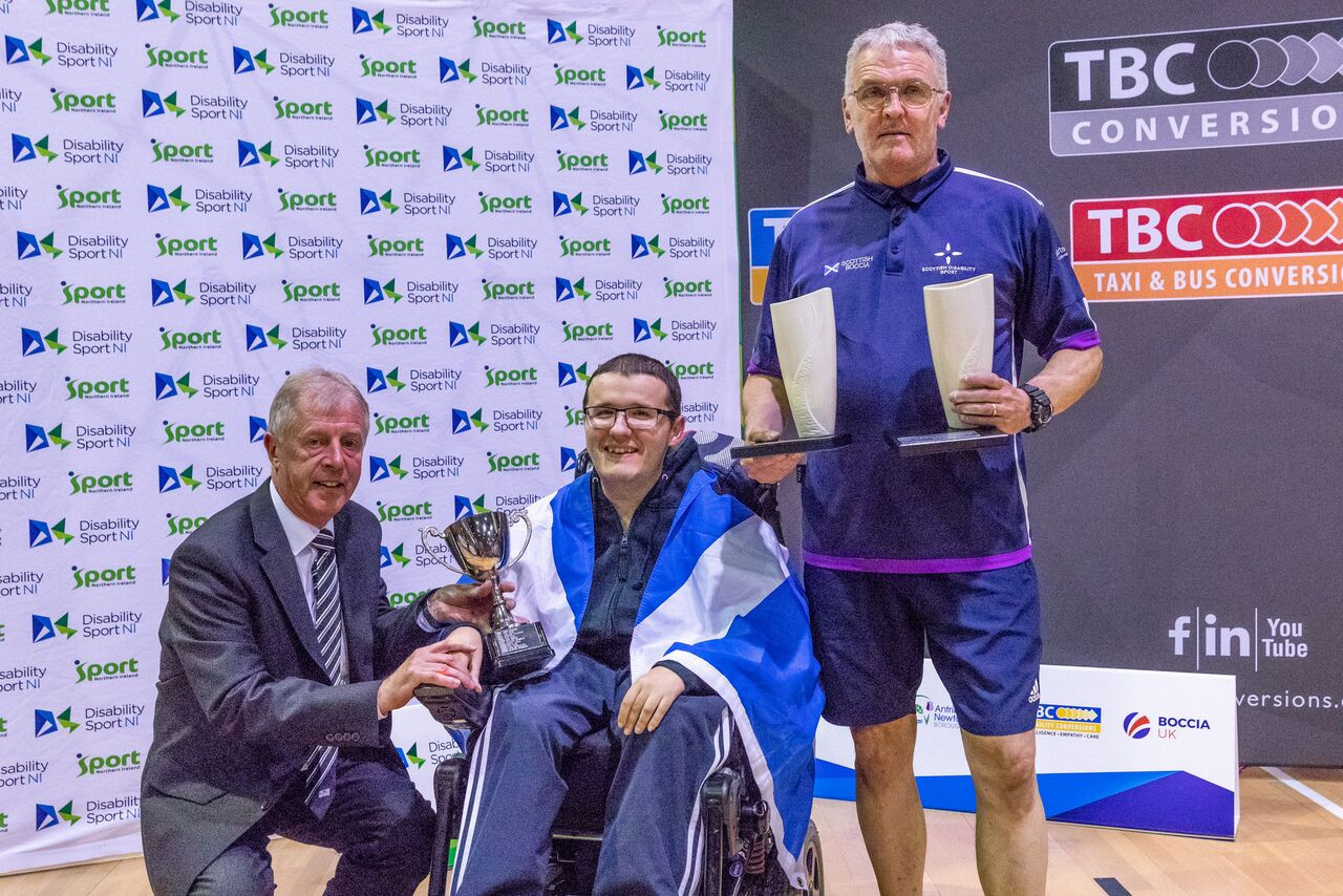 Scotland top medal table at 2019 UK Boccia Championships